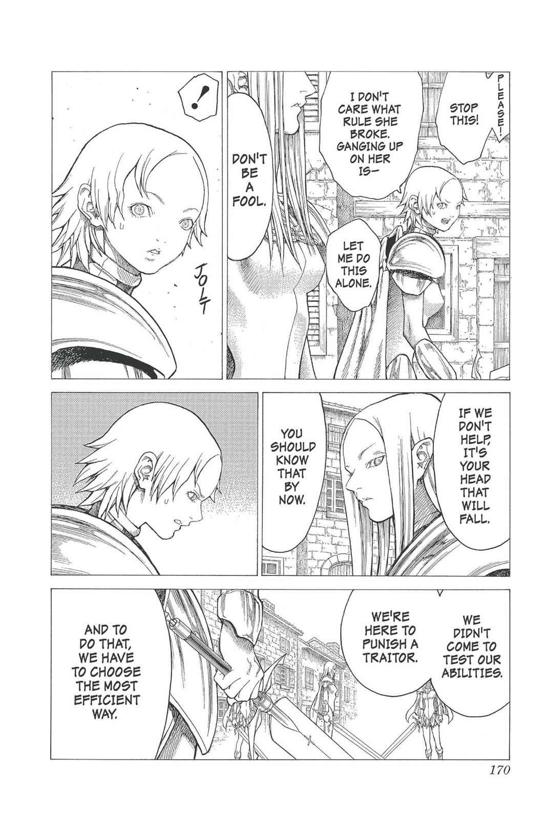 Claymore Chapter 21 Page 11