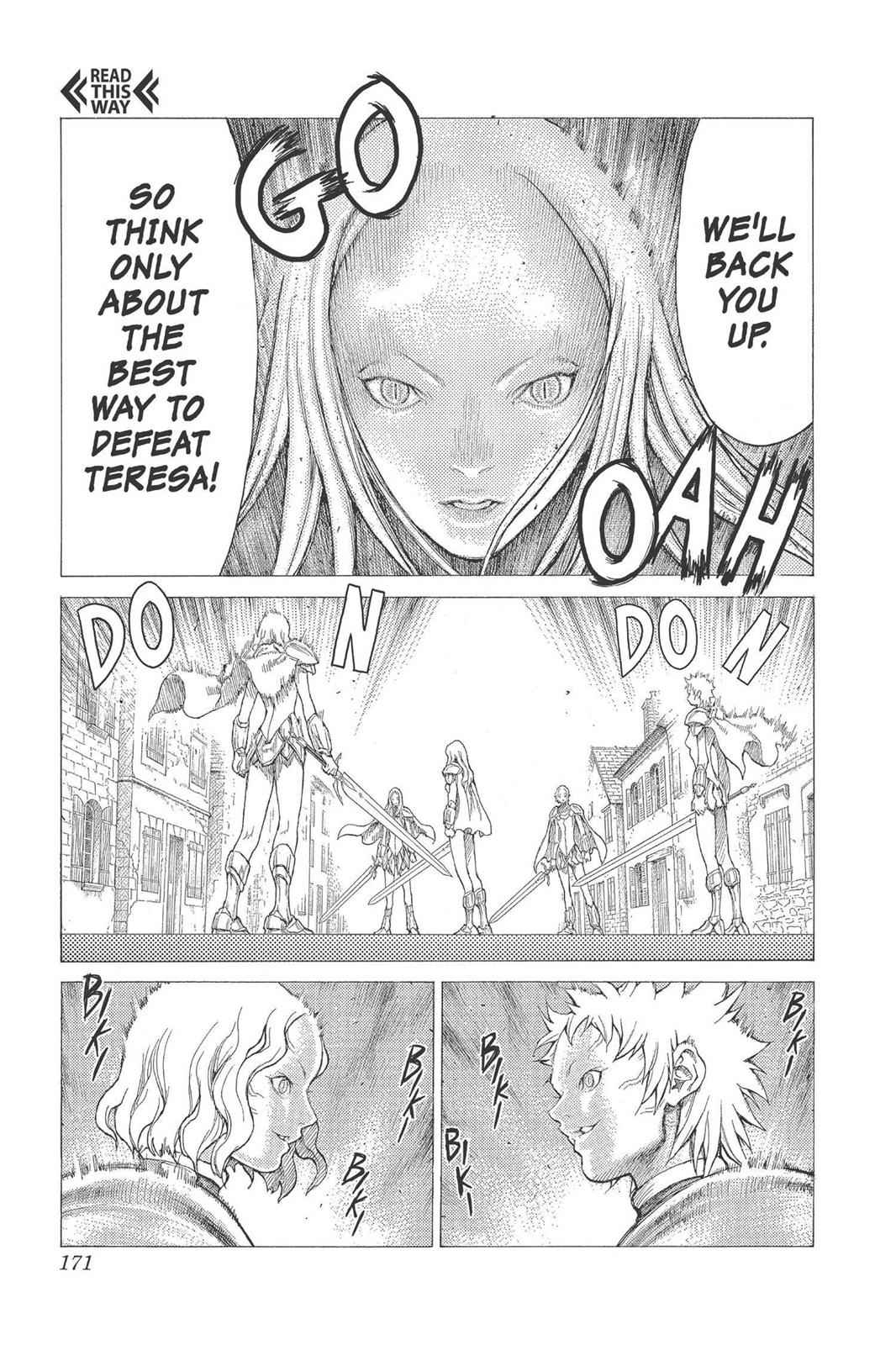 Claymore Chapter 21 Page 12
