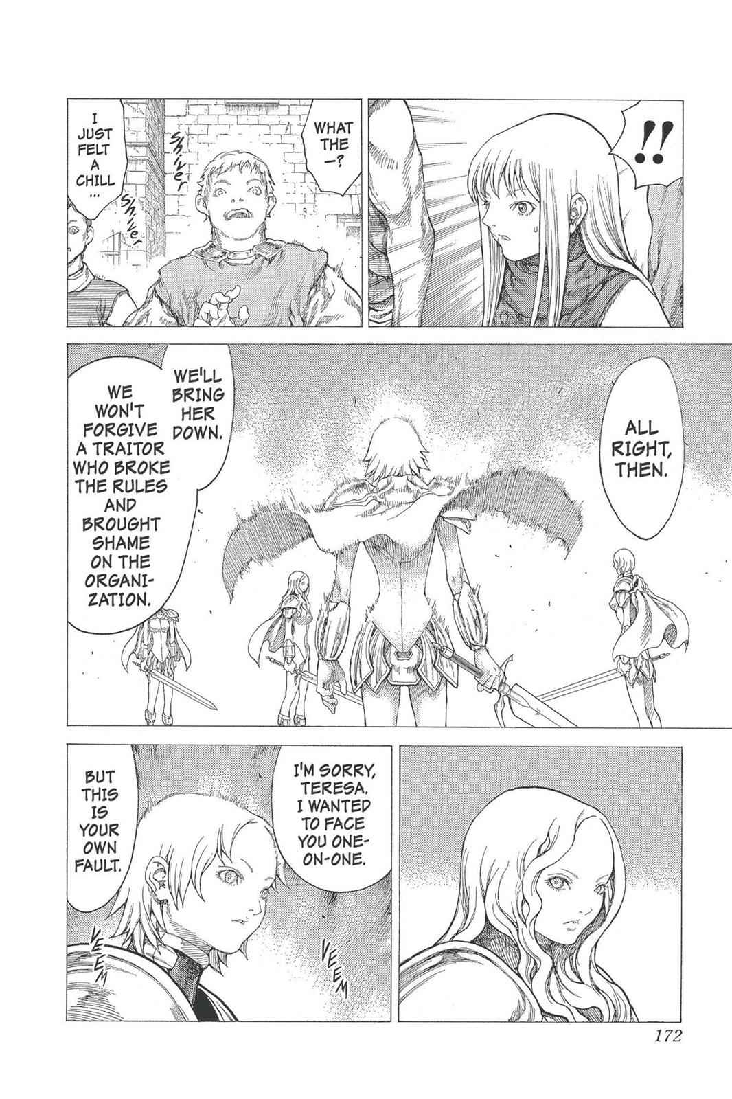 Claymore Chapter 21 Page 13