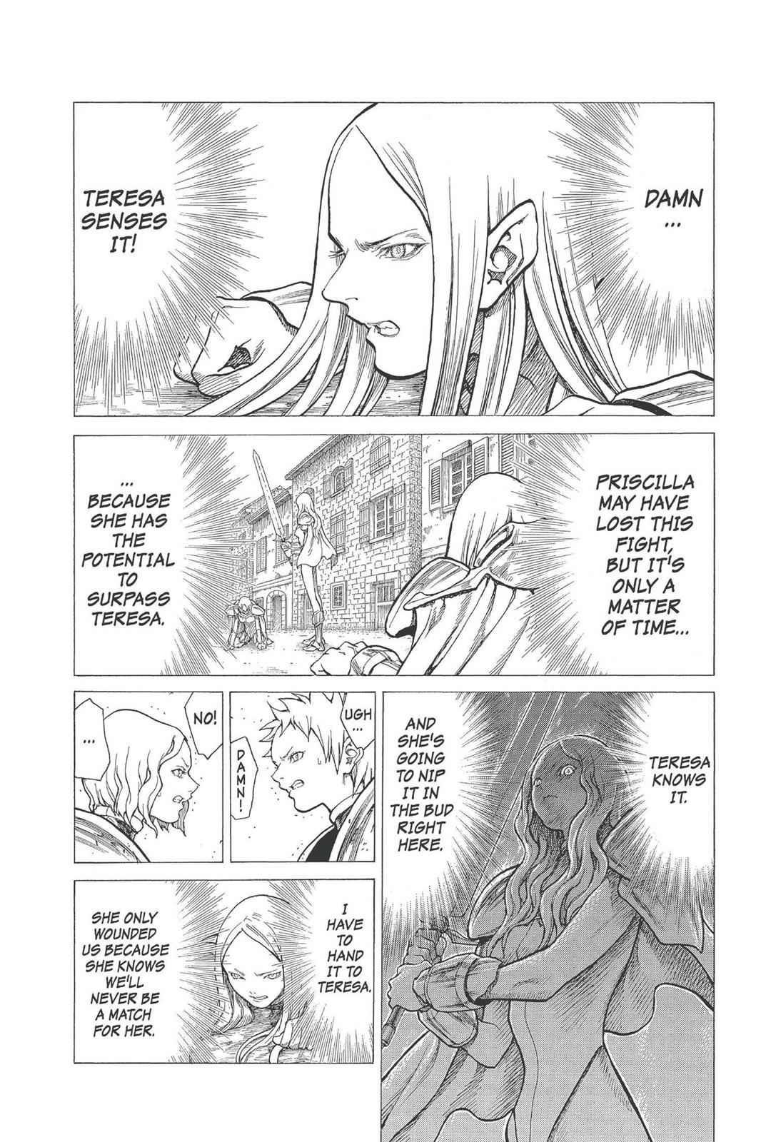 Claymore Chapter 22 Page 12