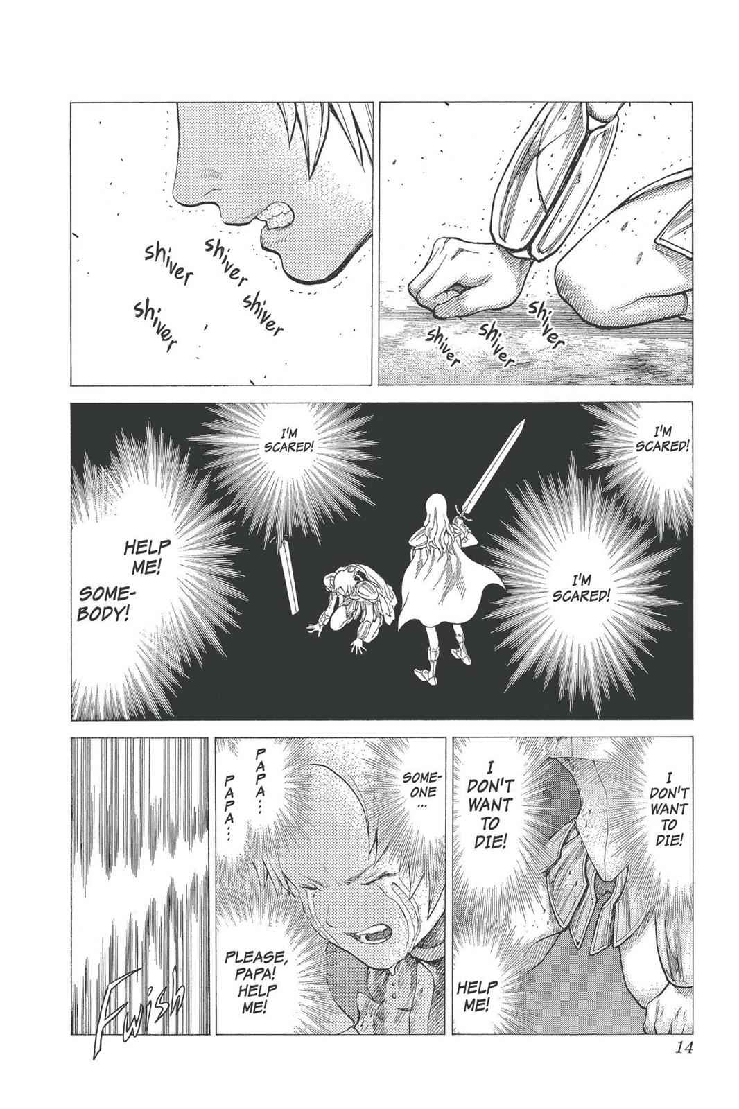 Claymore Chapter 22 Page 14
