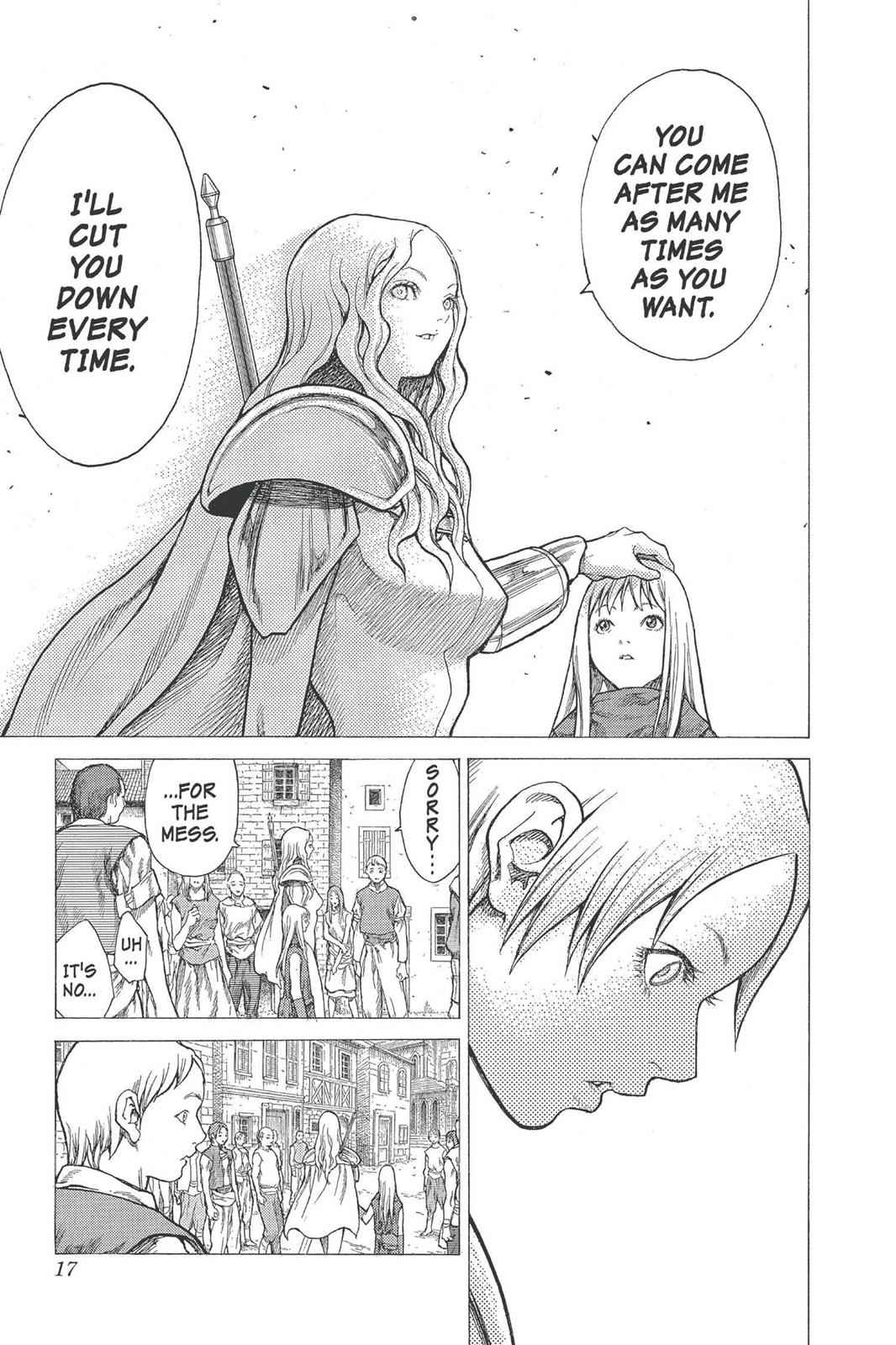 Claymore Chapter 22 Page 17
