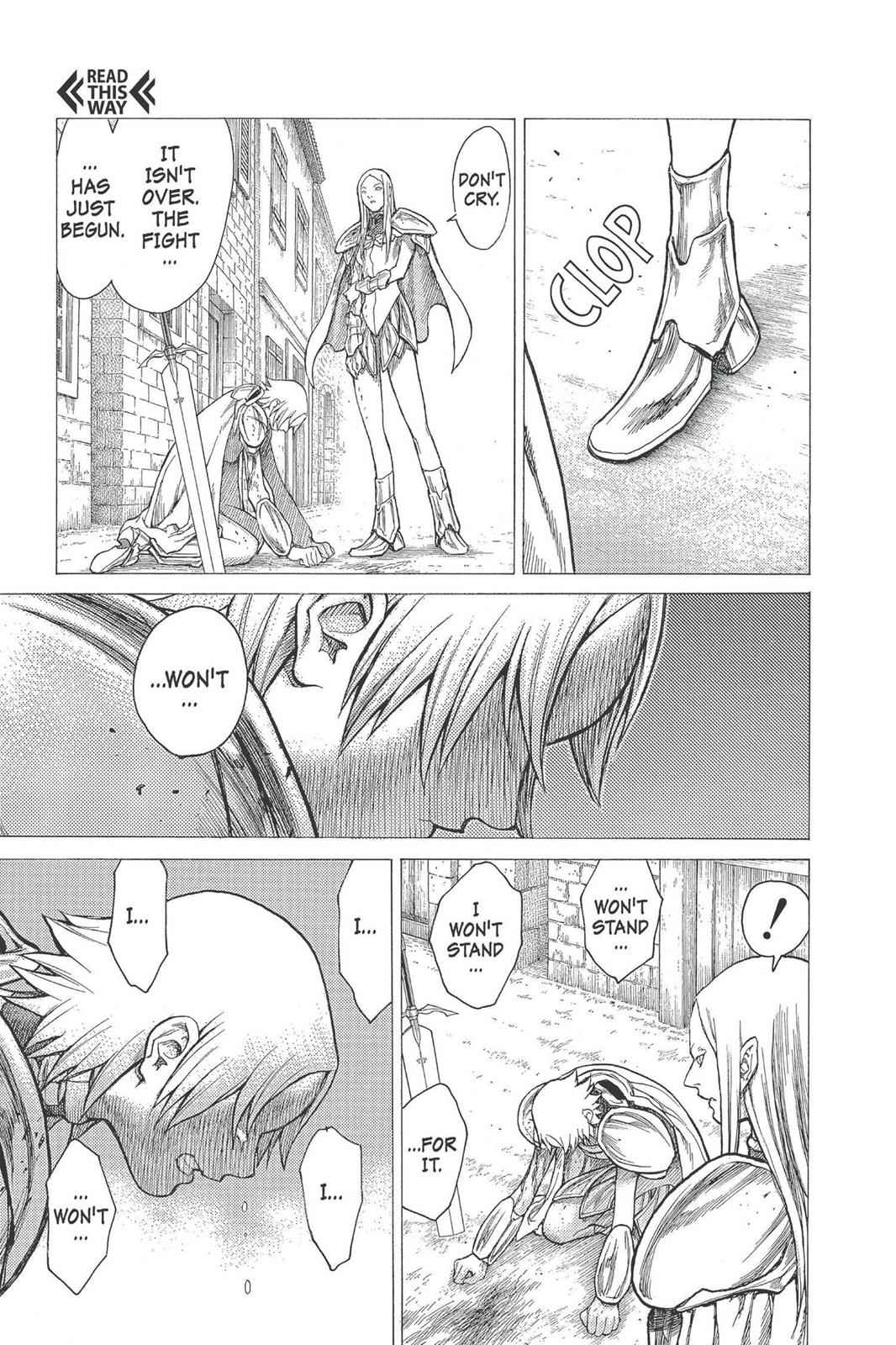 Claymore Chapter 22 Page 19