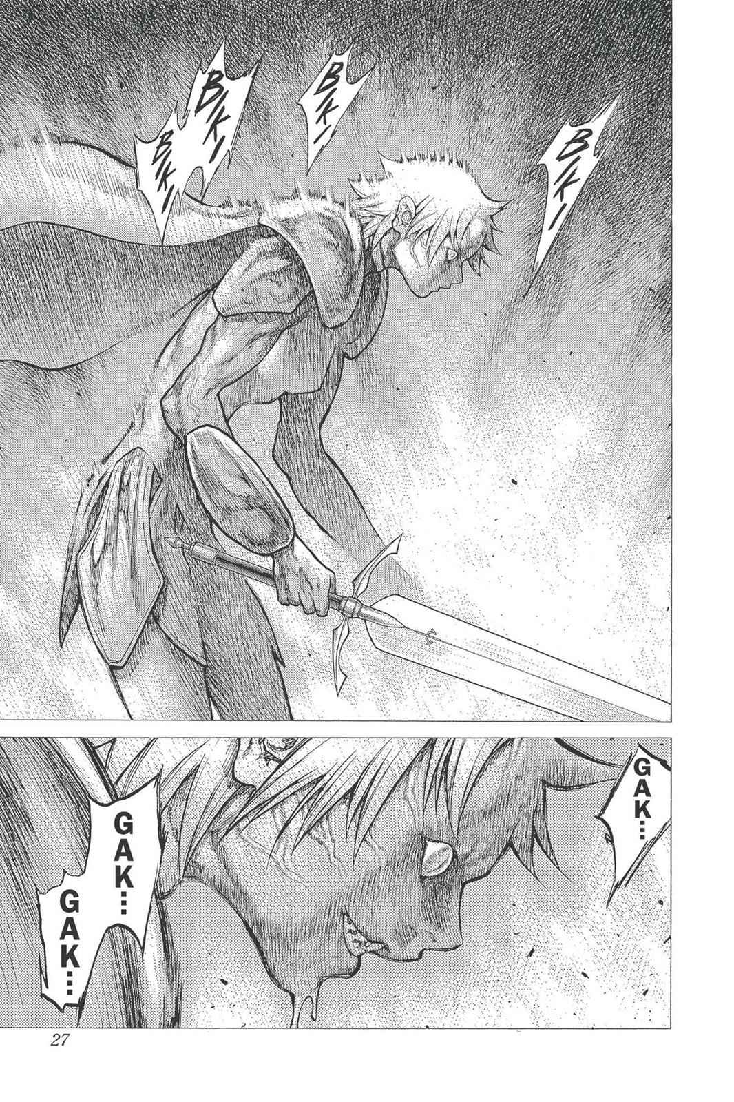 Claymore Chapter 22 Page 26