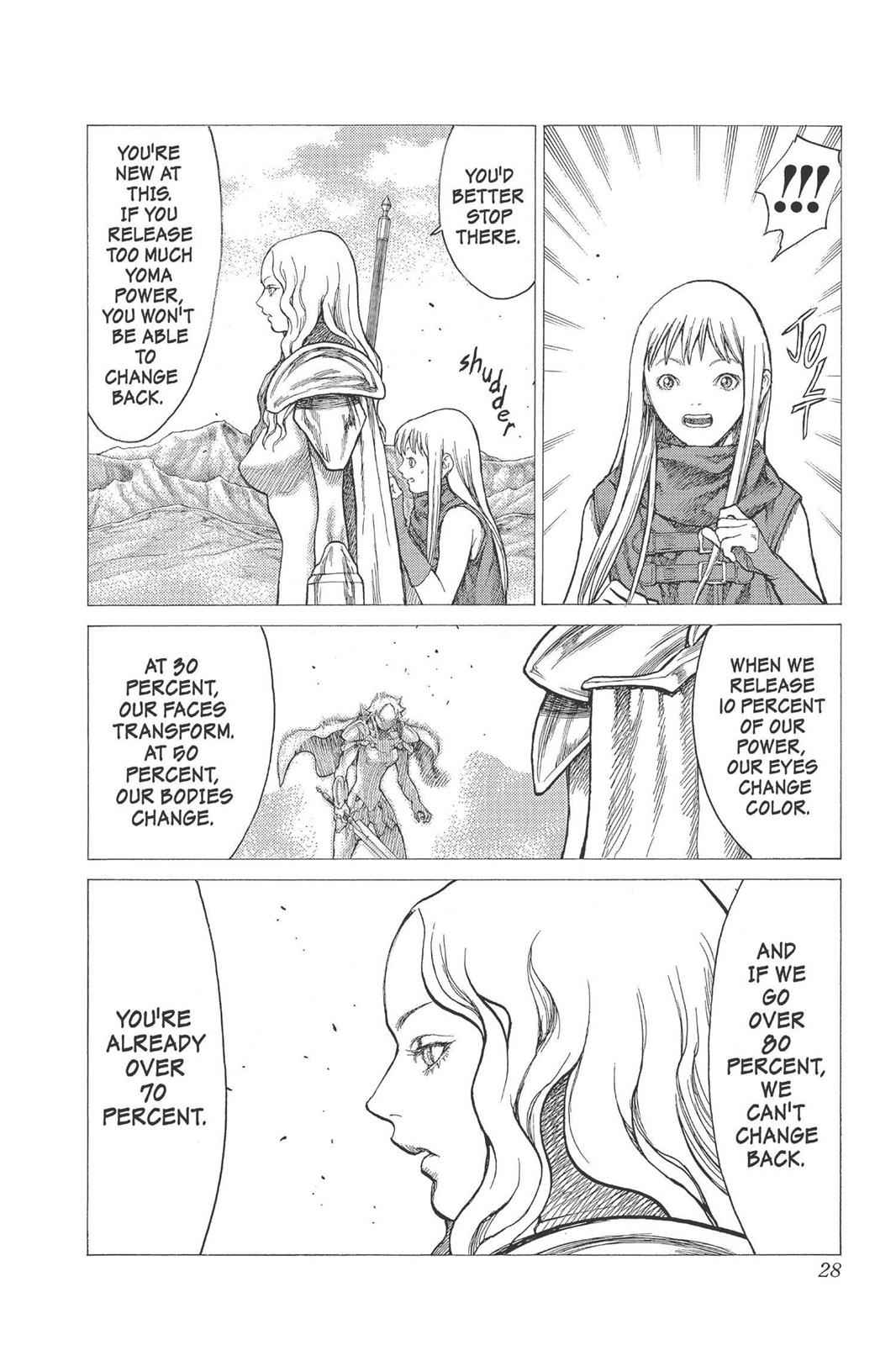 Claymore Chapter 22 Page 27