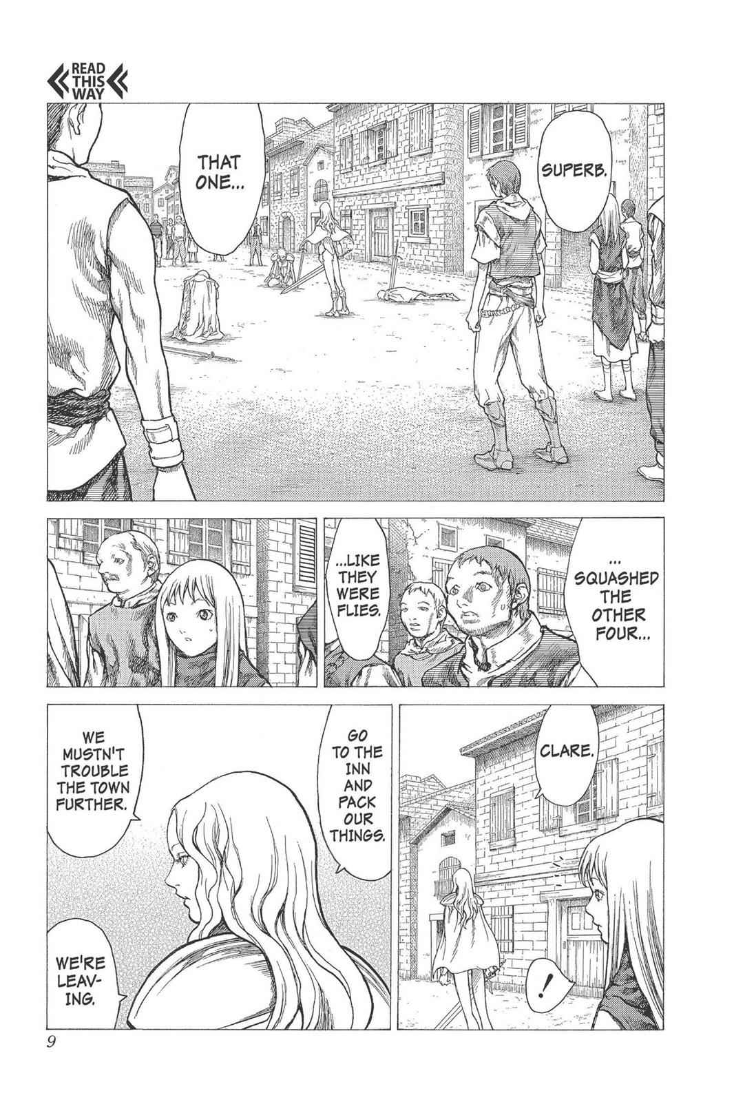 Claymore Chapter 22 Page 9