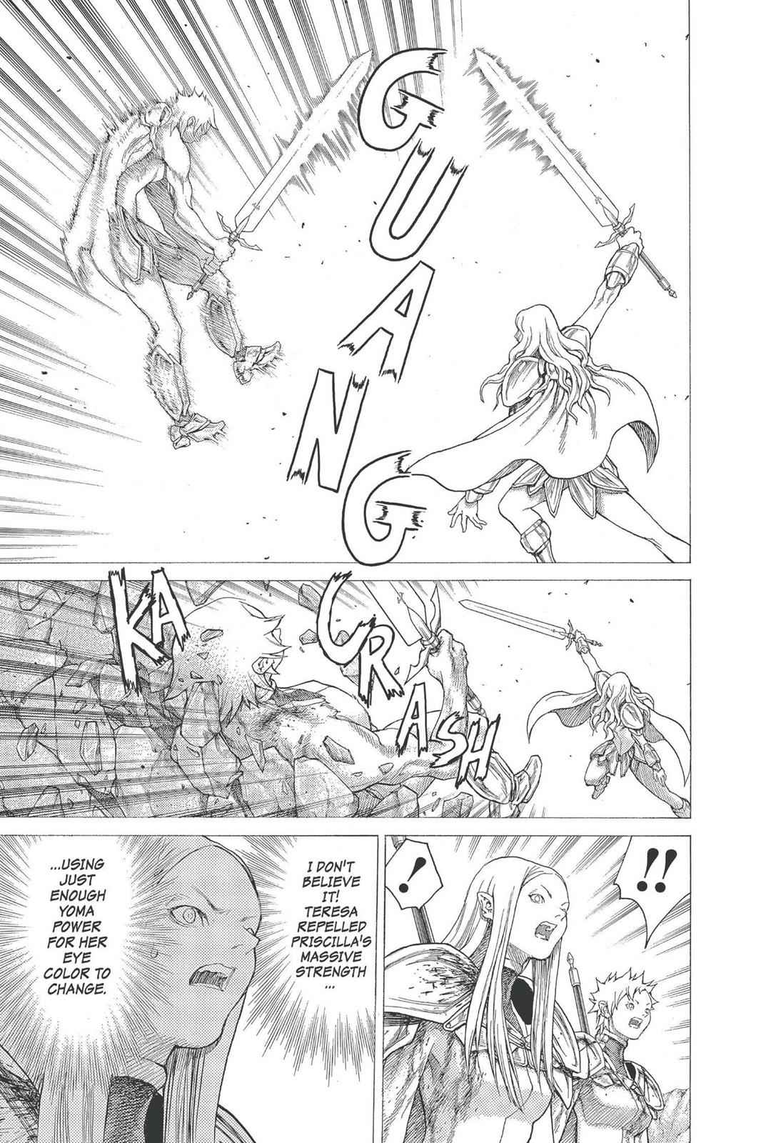 Claymore Chapter 23 Page 10