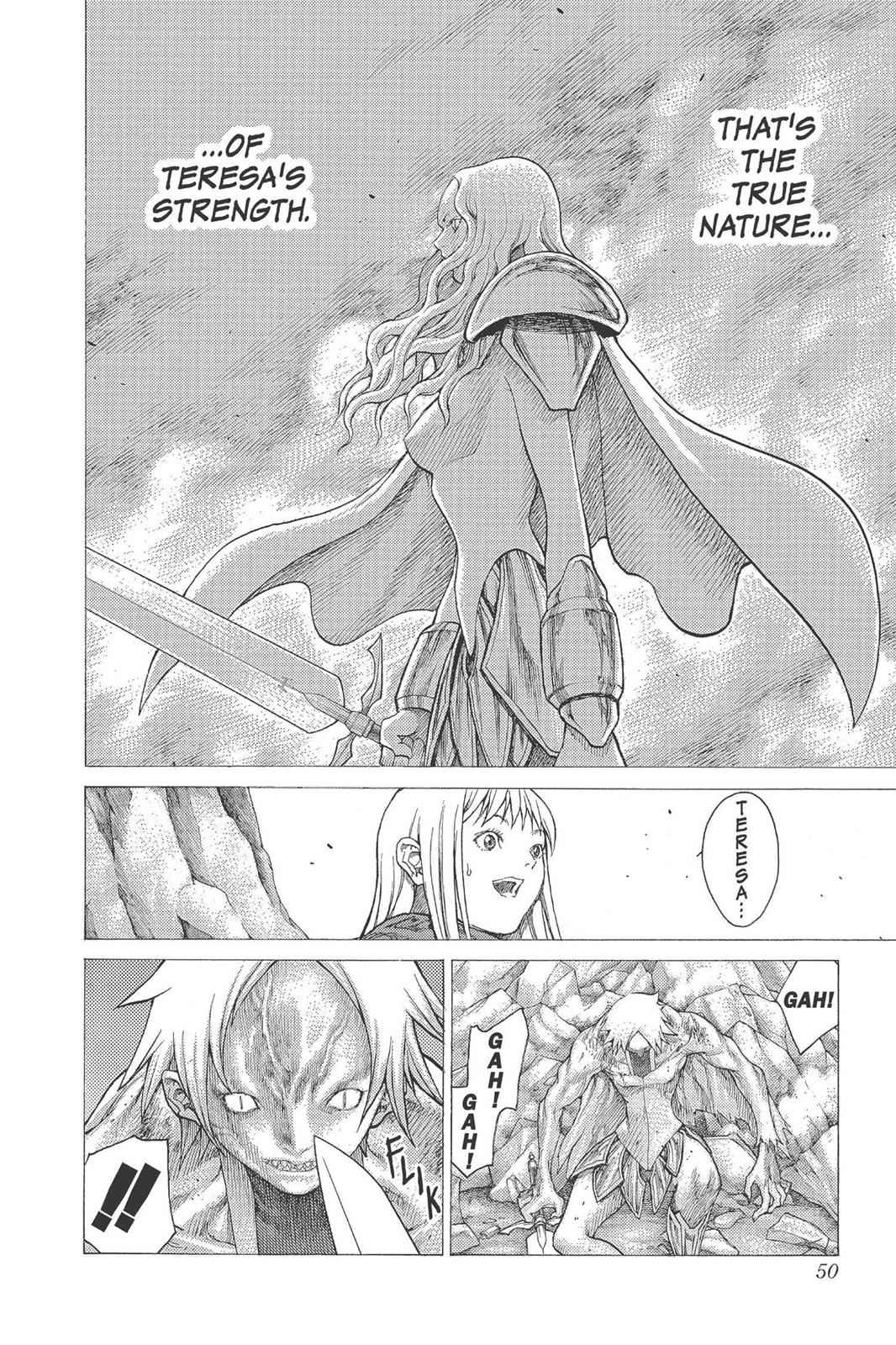 Claymore Chapter 23 Page 11