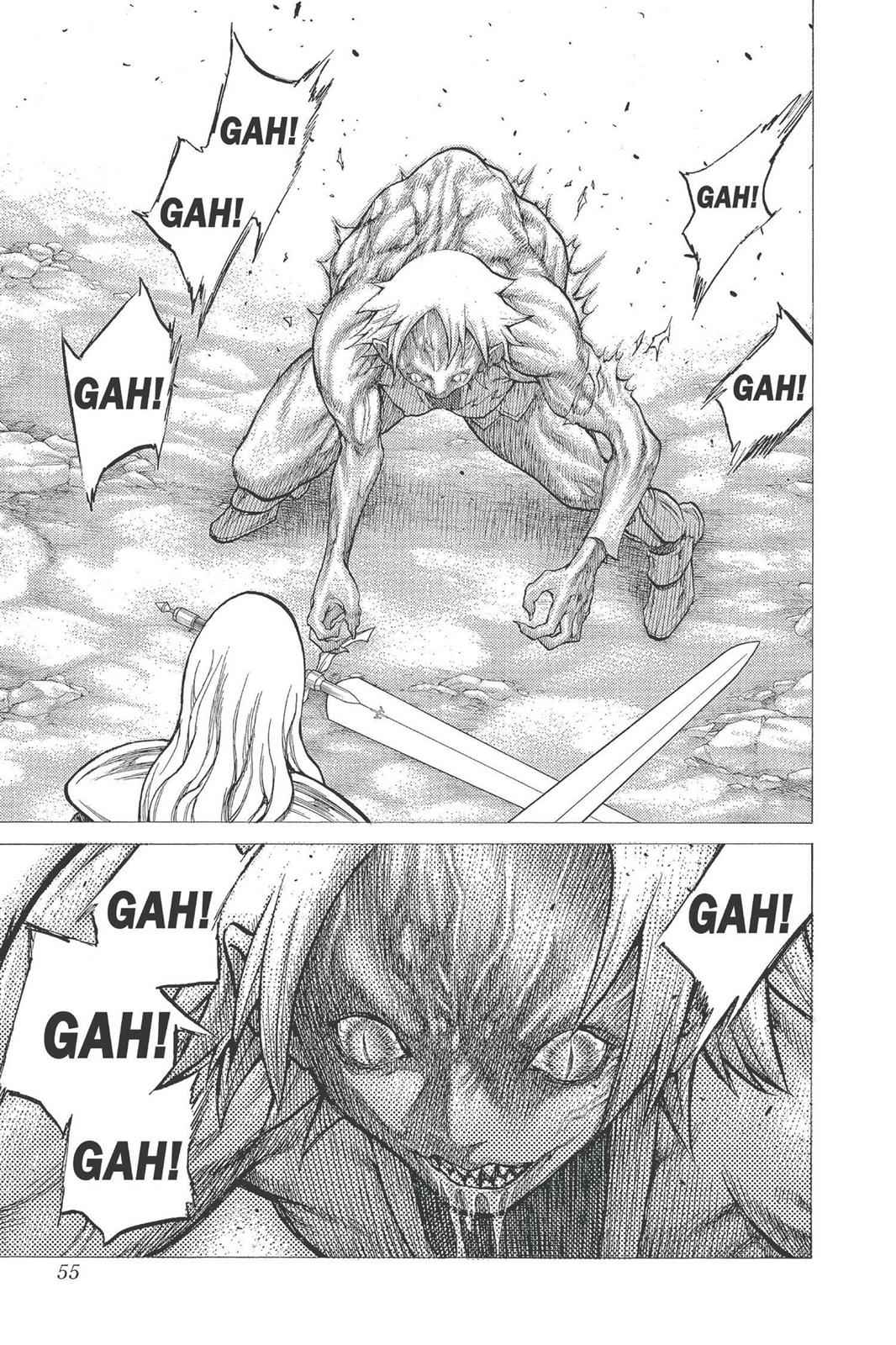 Claymore Chapter 23 Page 16