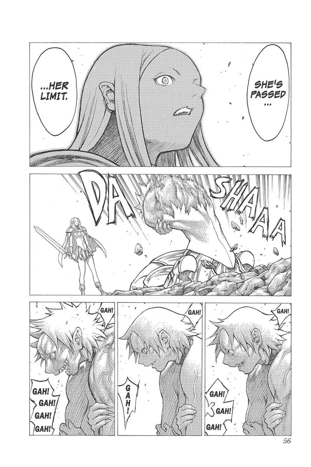 Claymore Chapter 23 Page 17