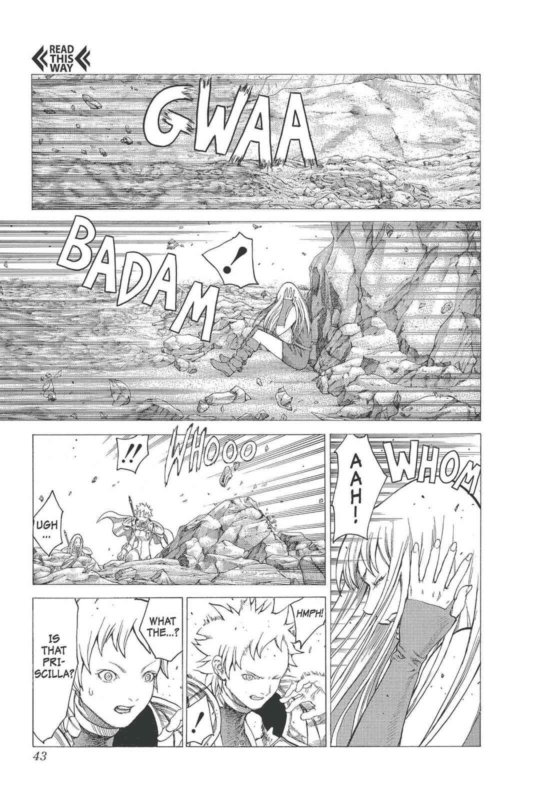 Claymore Chapter 23 Page 4