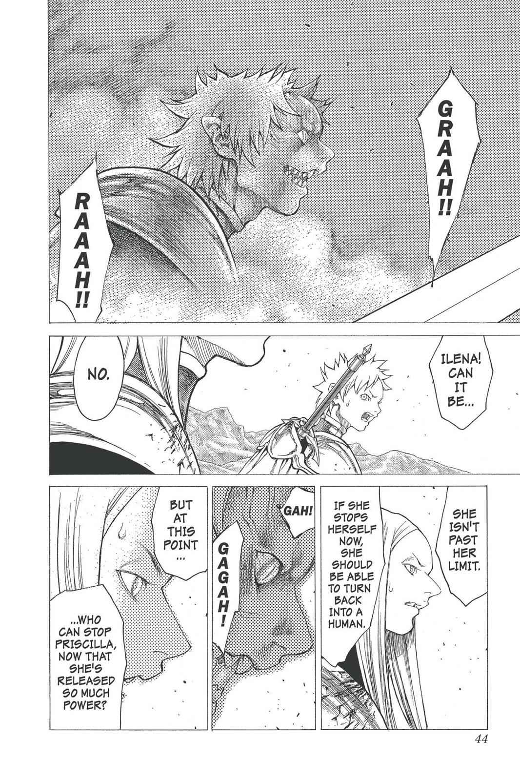 Claymore Chapter 23 Page 5