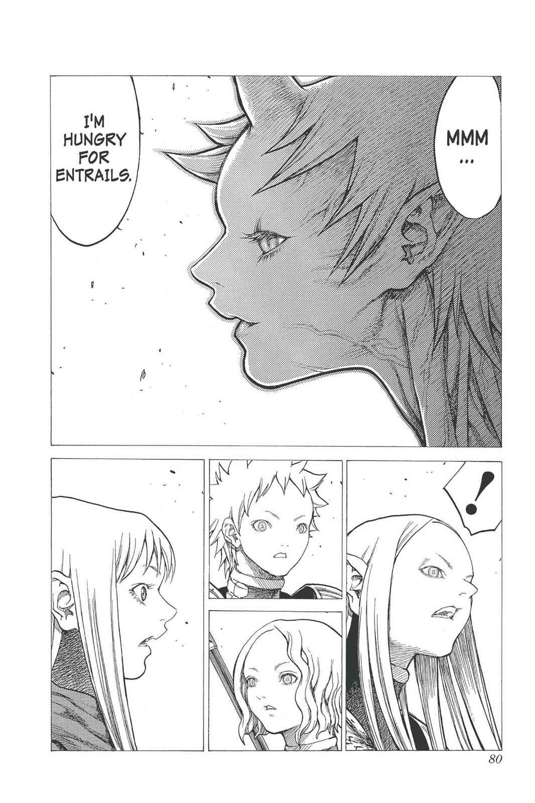 Claymore Chapter 24 Page 7