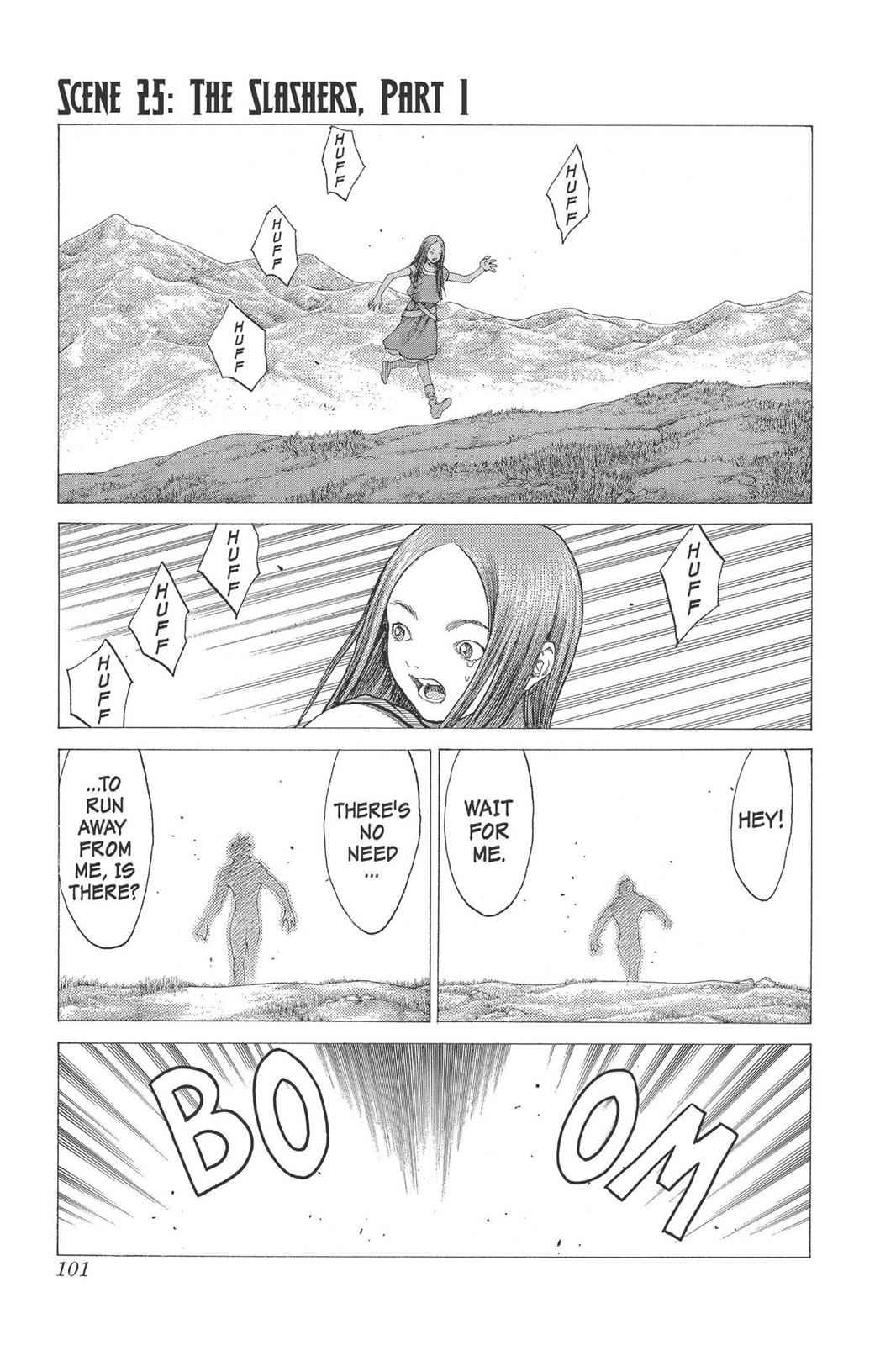 Claymore Chapter 25 Page 1