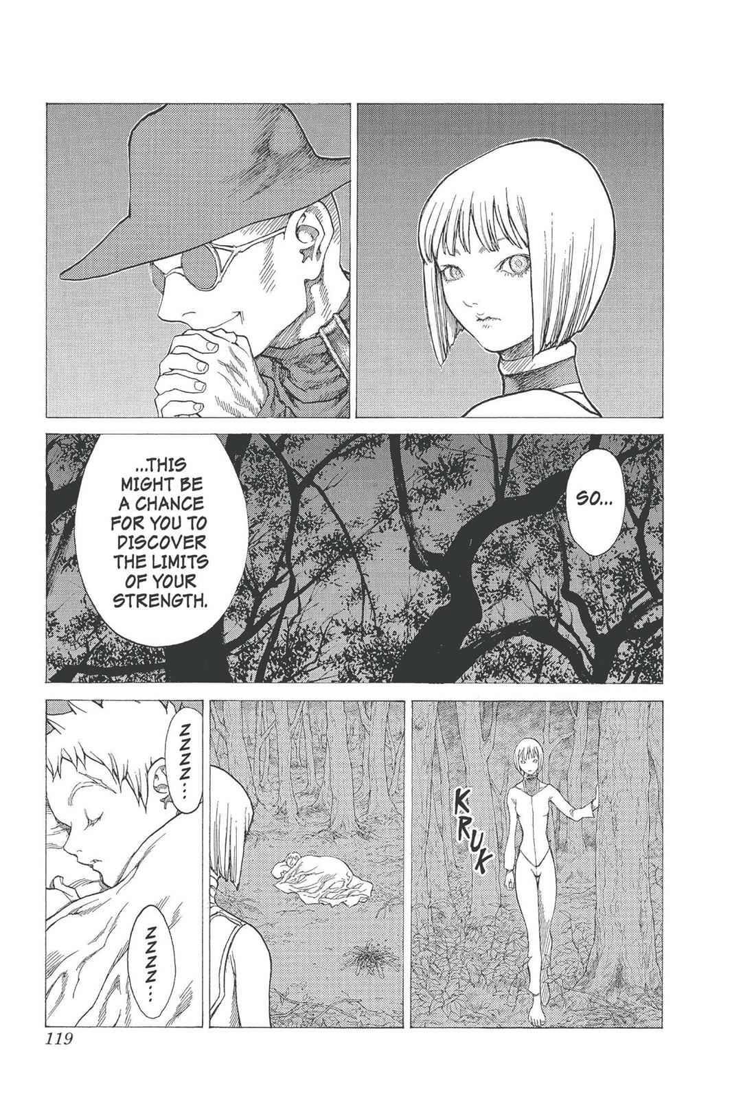 Claymore Chapter 25 Page 17