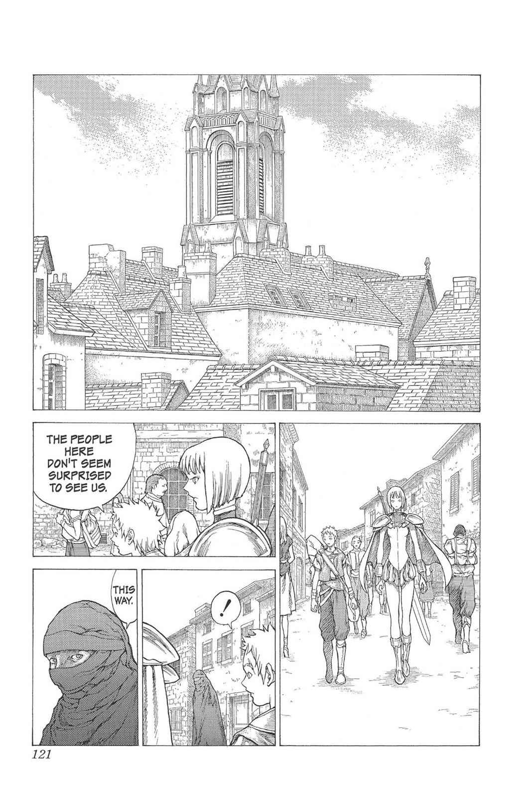 Claymore Chapter 25 Page 19
