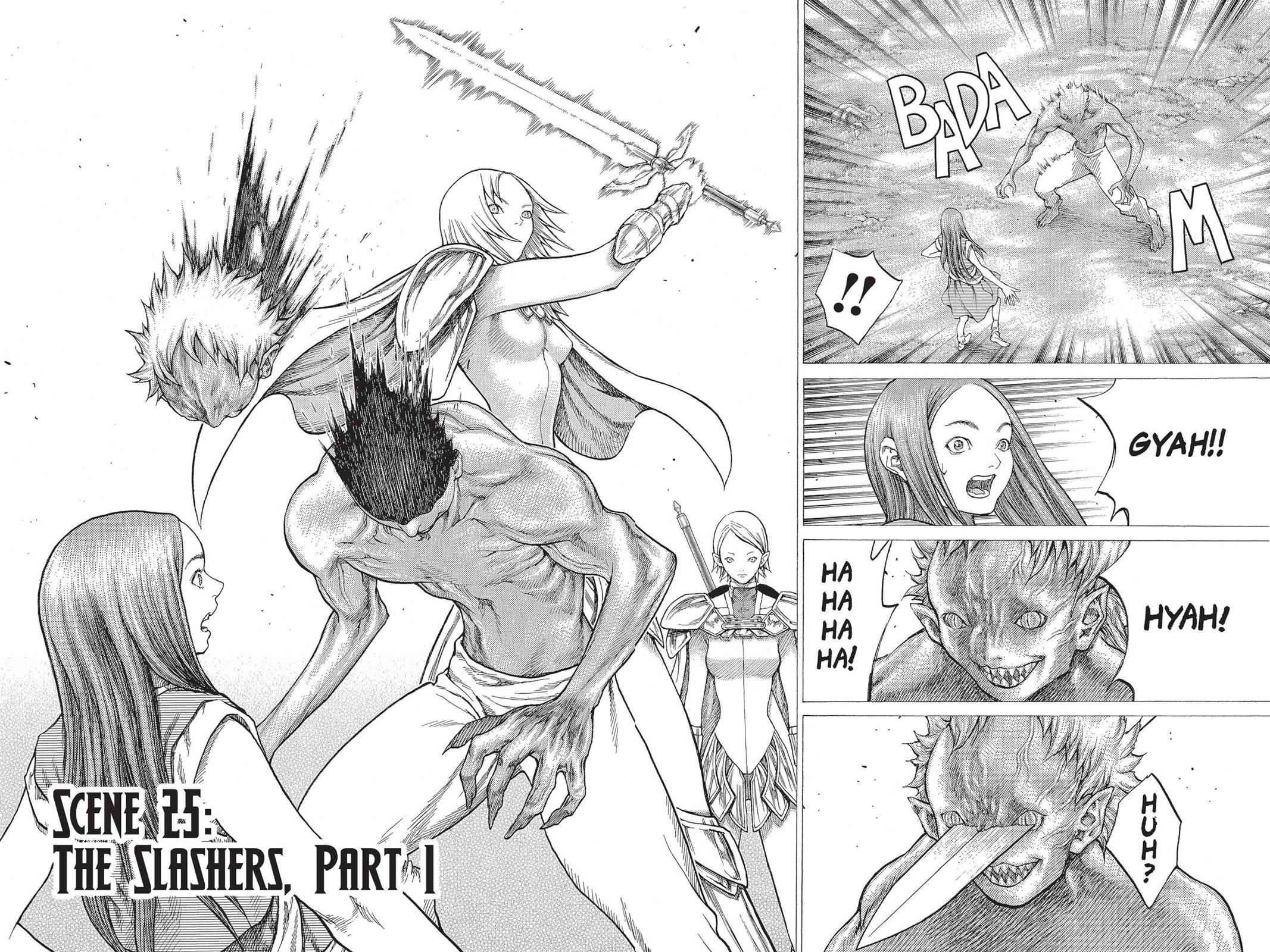 Claymore Chapter 25 Page 2
