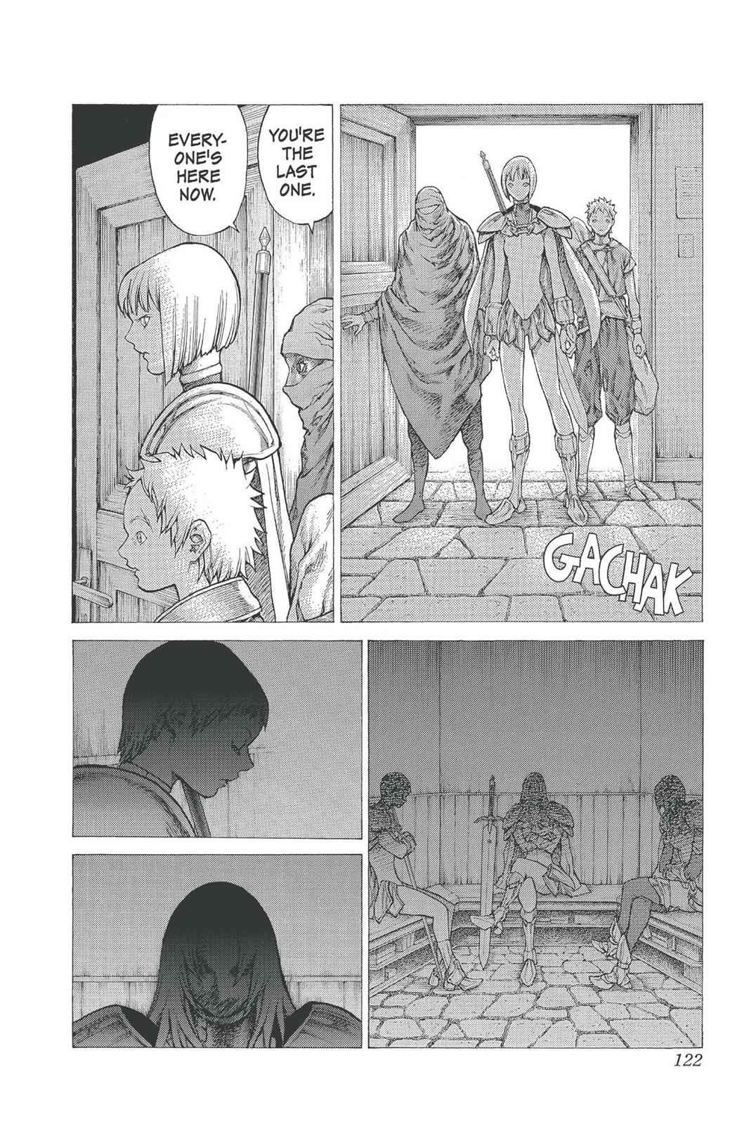Claymore Chapter 25 Page 20
