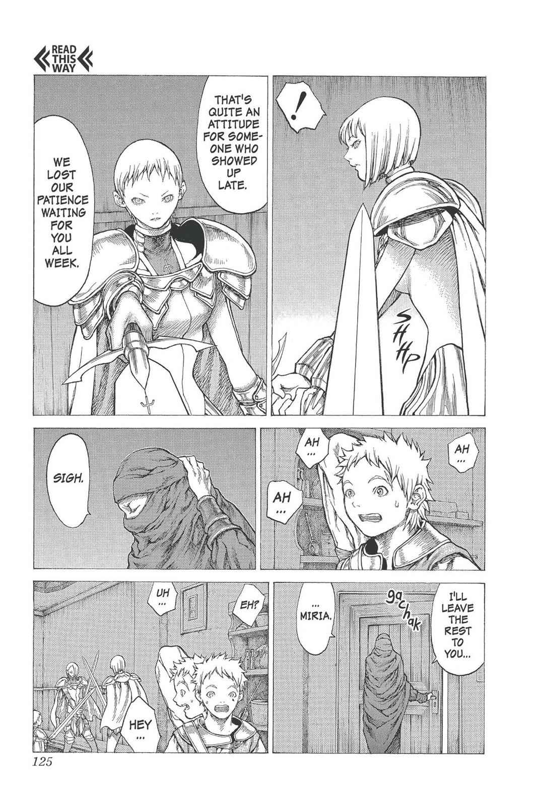 Claymore Chapter 25 Page 23