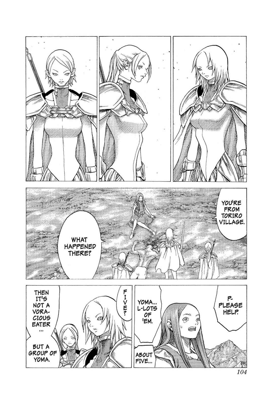 Claymore Chapter 25 Page 3