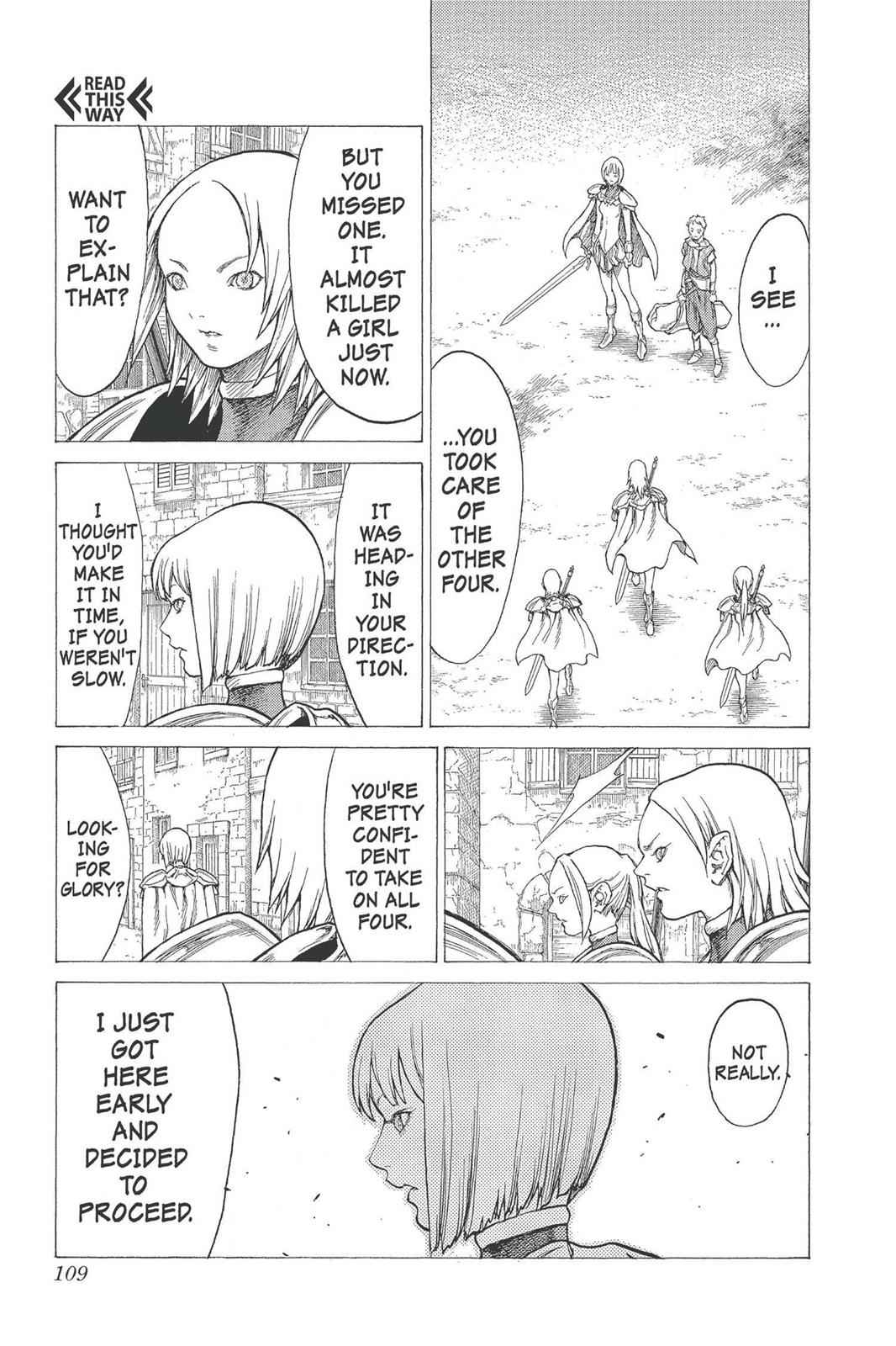 Claymore Chapter 25 Page 7