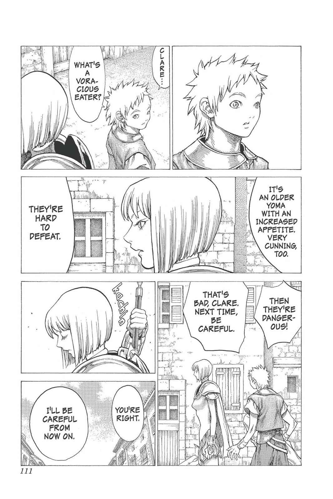 Claymore Chapter 25 Page 9