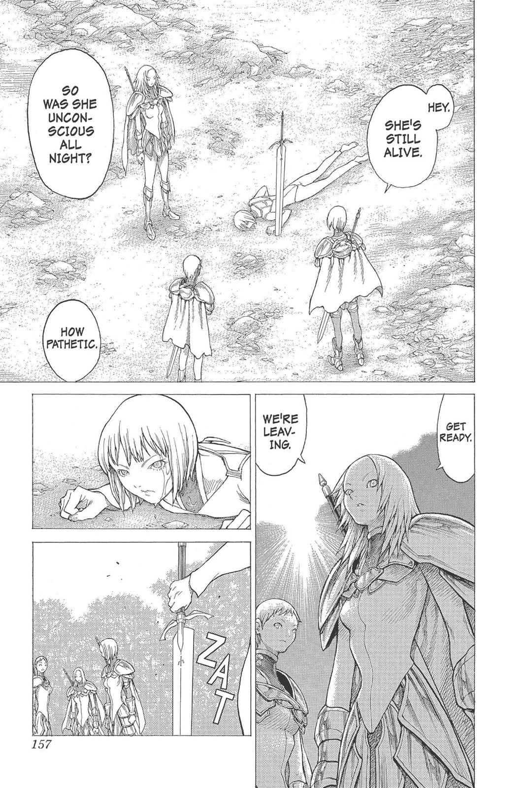 Claymore Chapter 26 Page 24