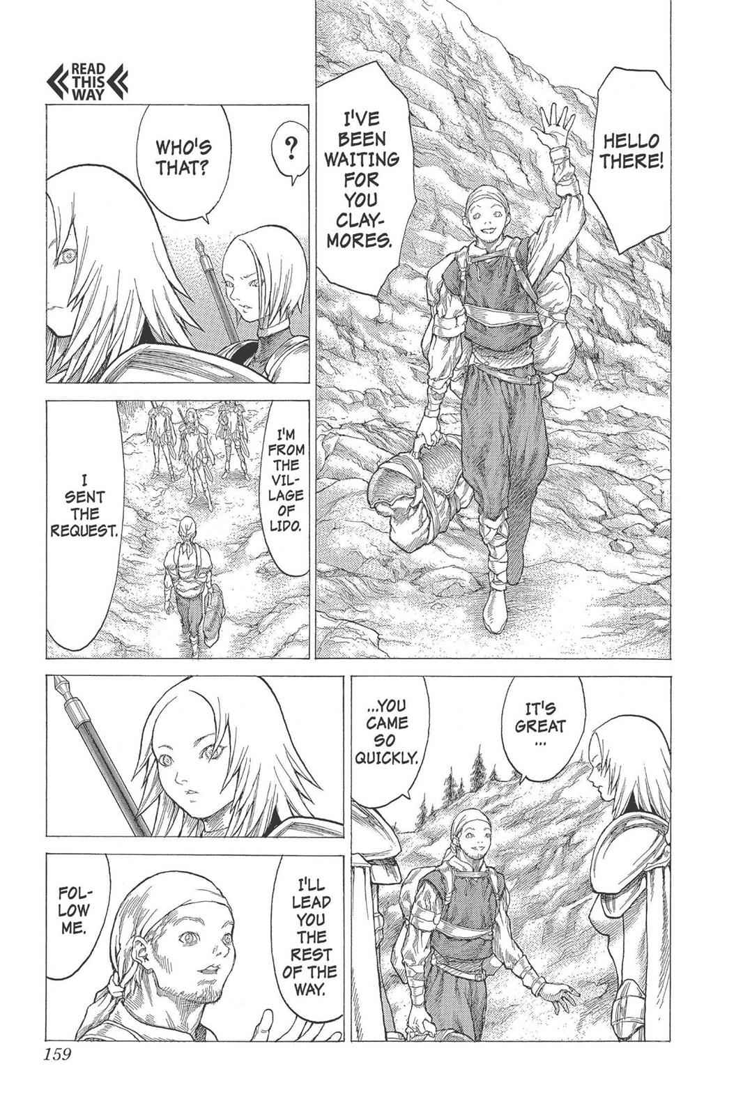 Claymore Chapter 26 Page 26