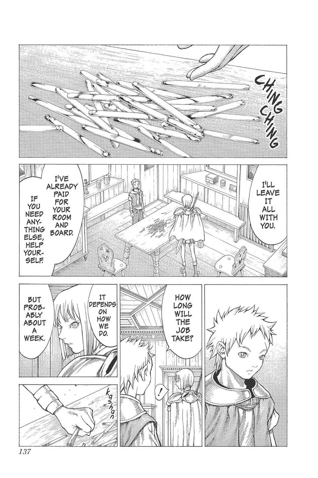 Claymore Chapter 26 Page 4