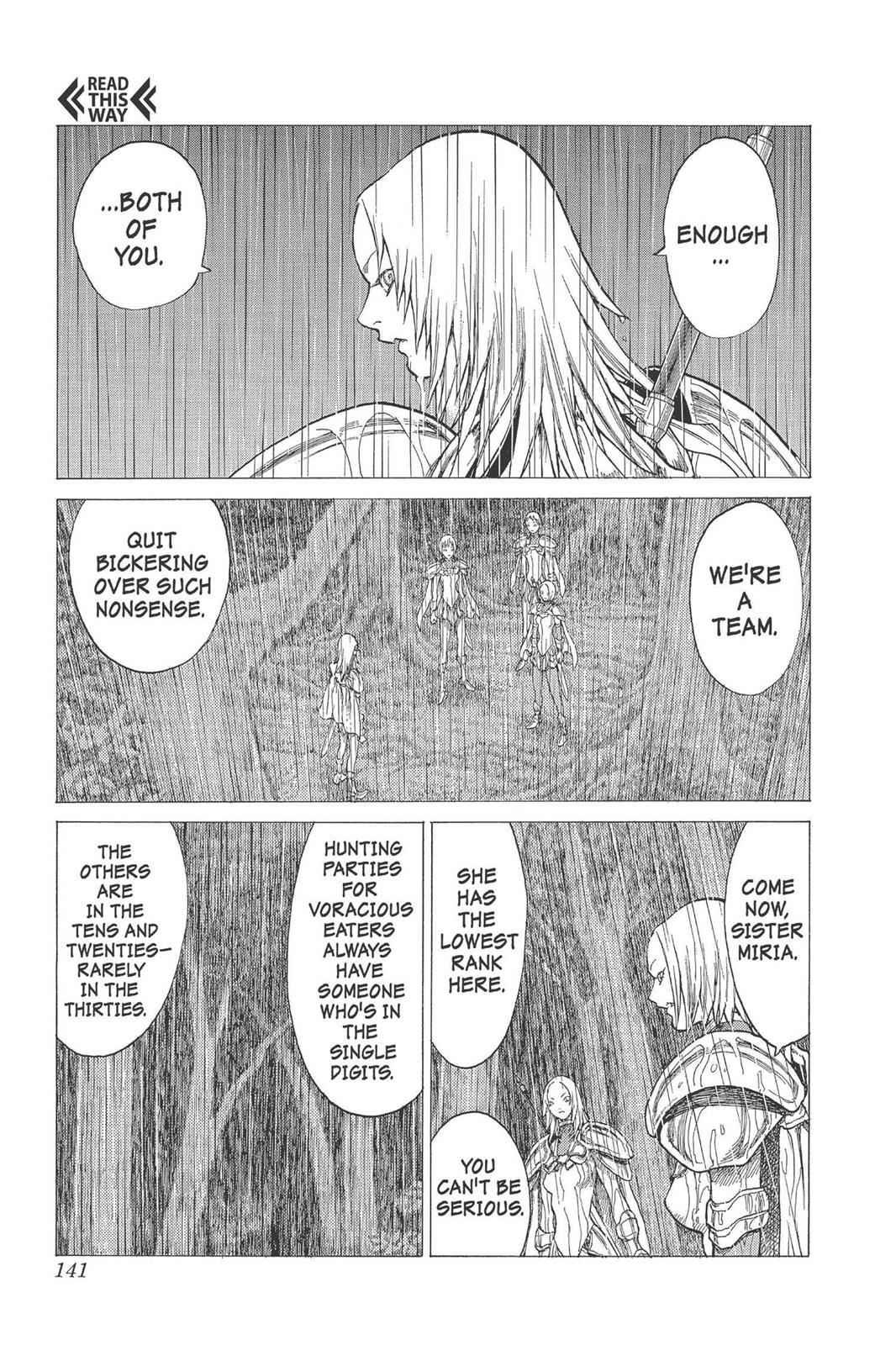Claymore Chapter 26 Page 8