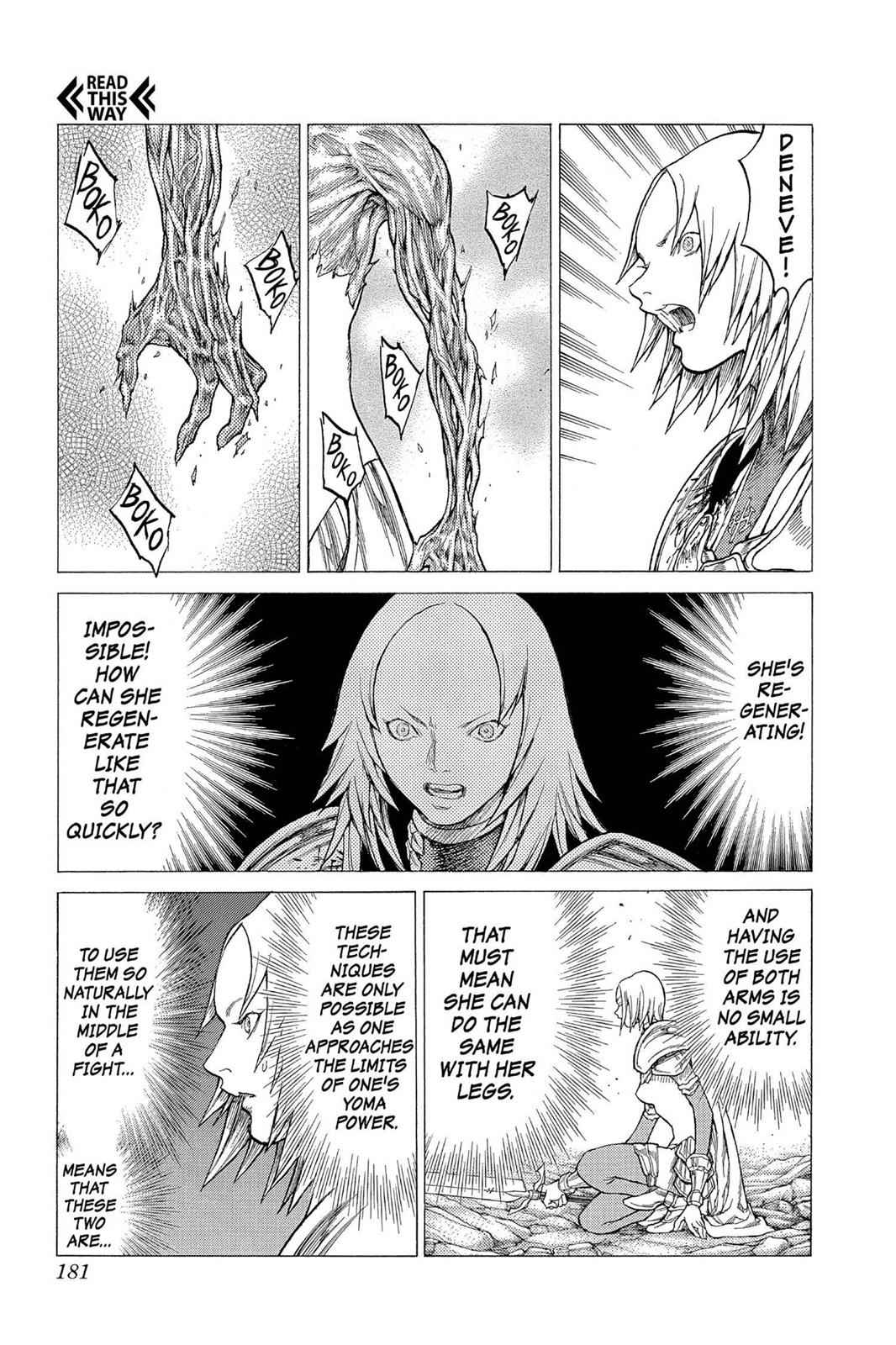 Claymore Chapter 27 Page 16
