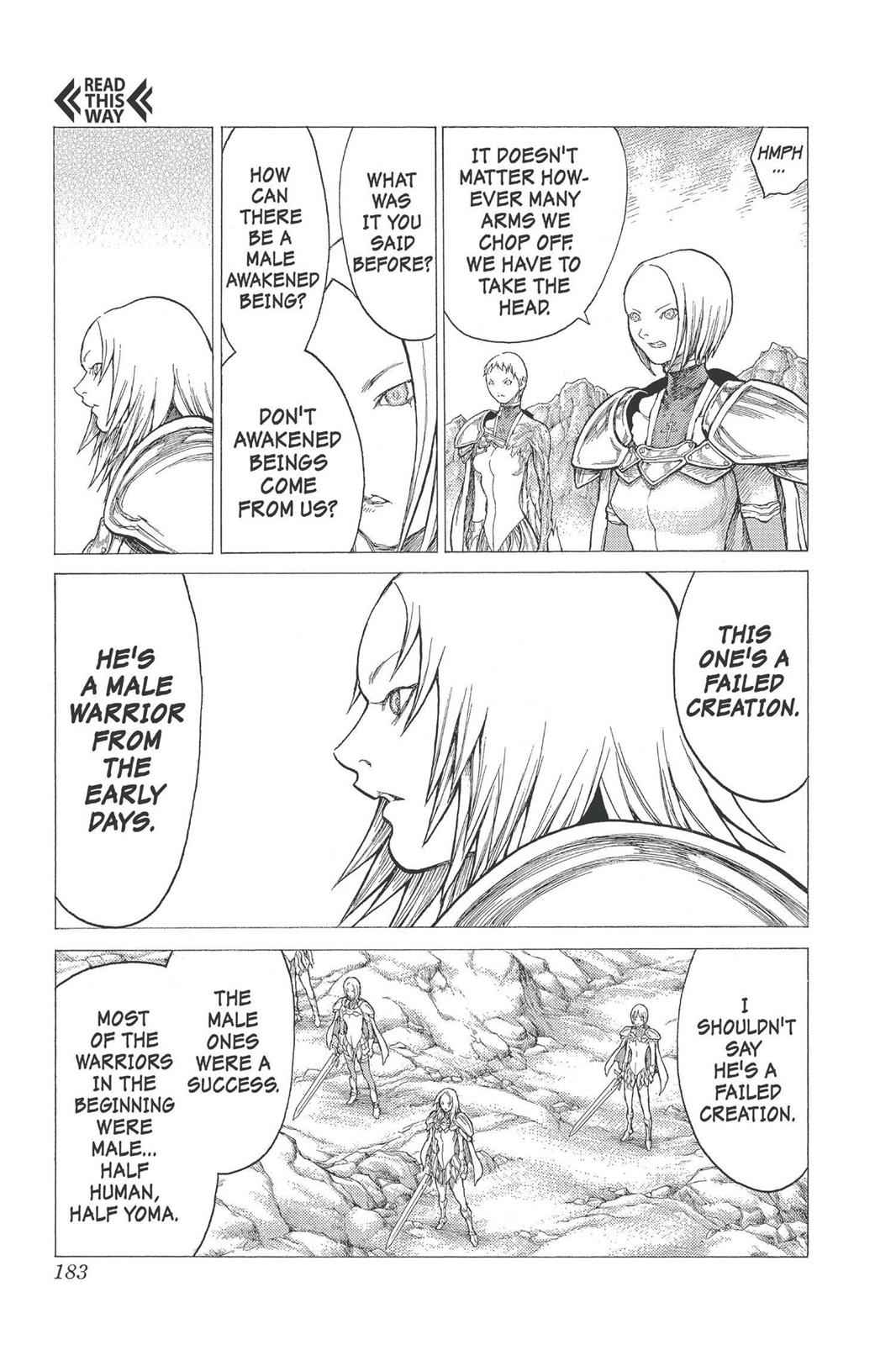 Claymore Chapter 27 Page 18