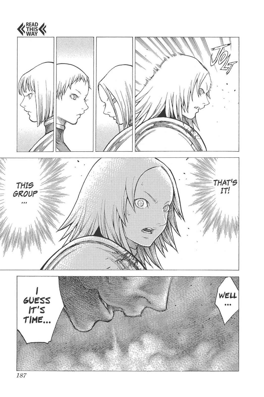 Claymore Chapter 27 Page 22