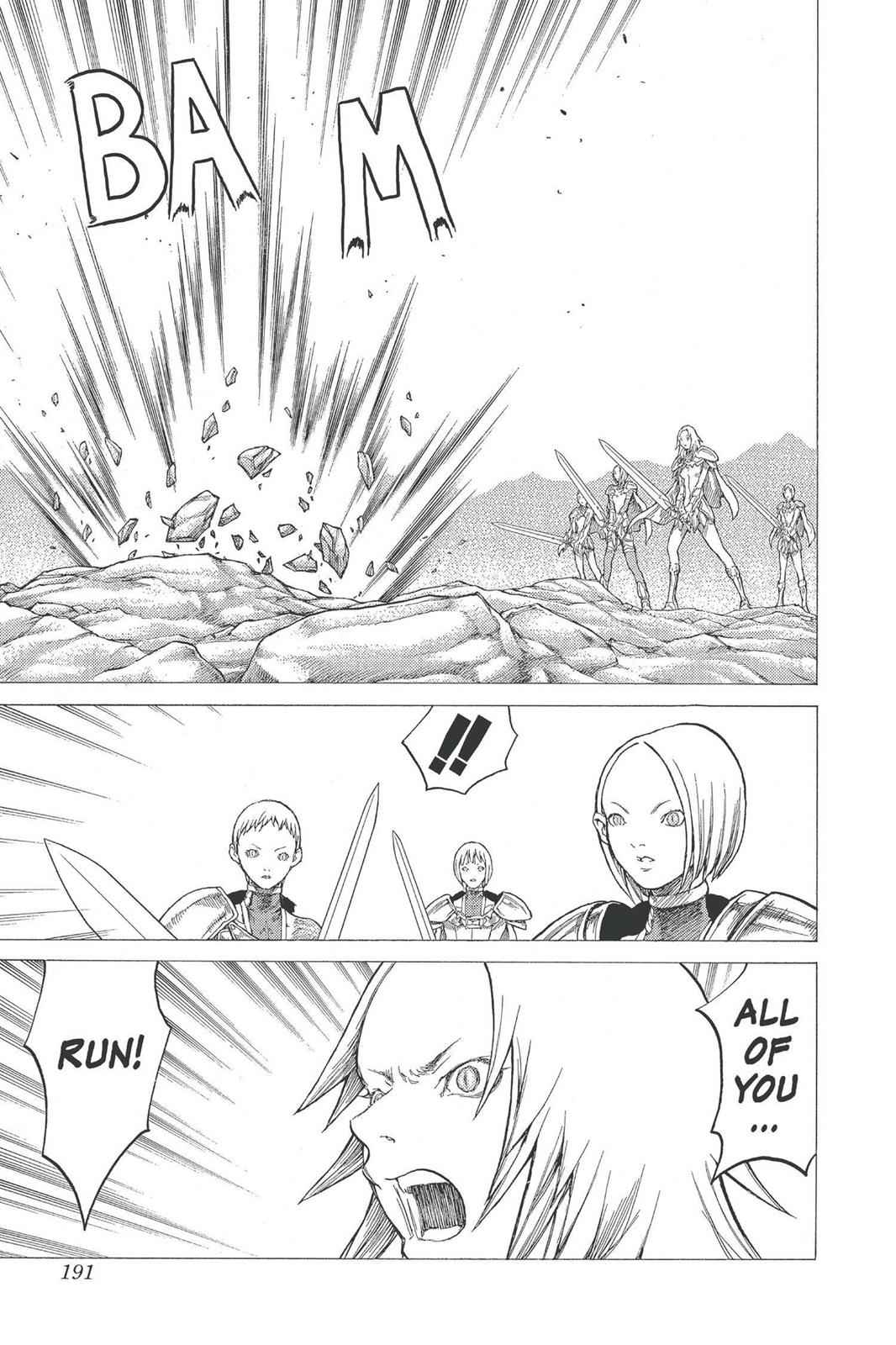 Claymore Chapter 27 Page 25