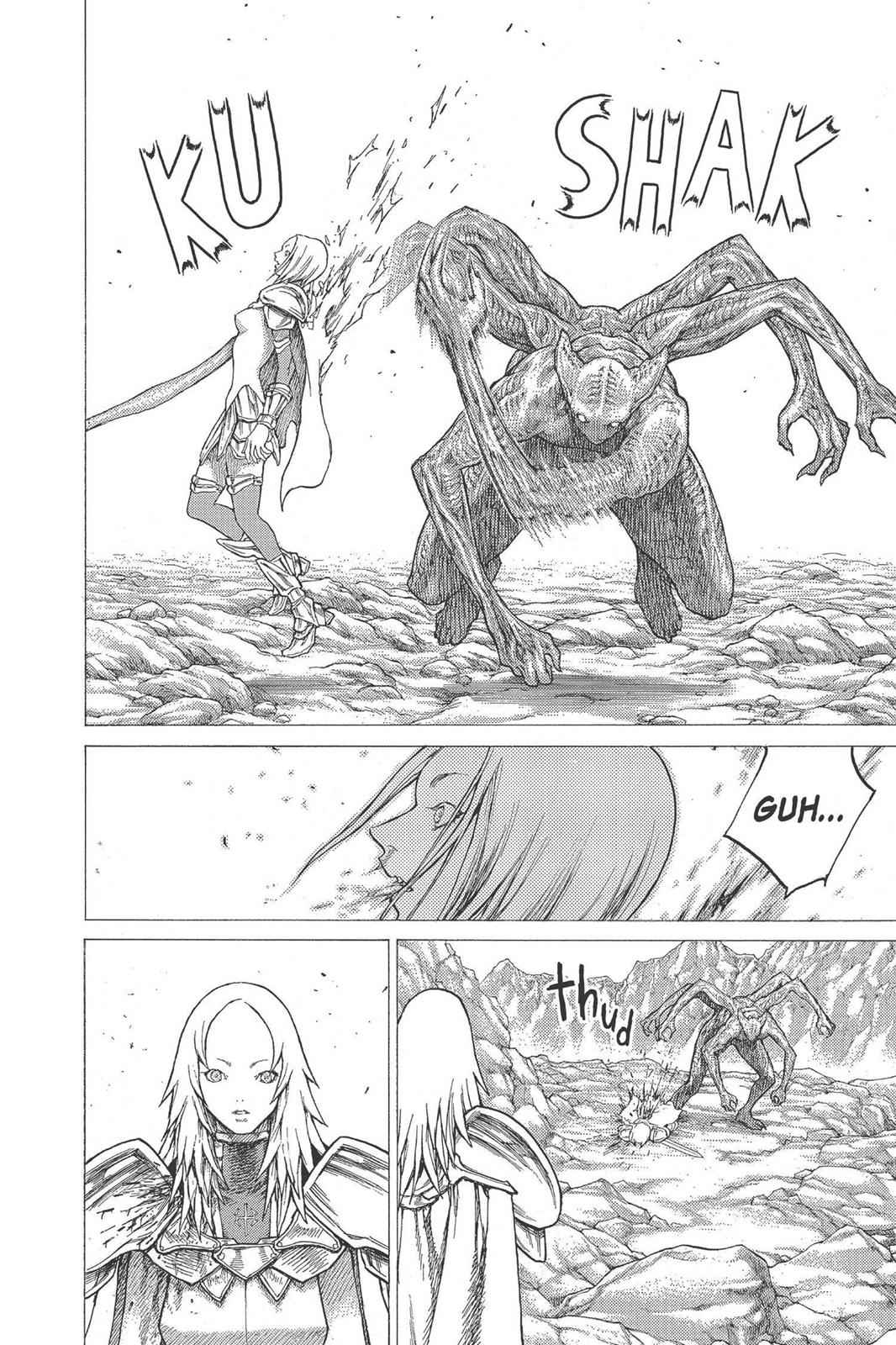 Claymore Chapter 27 Page 28