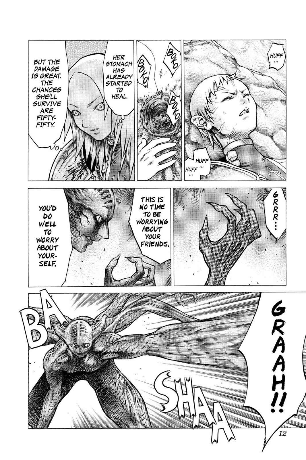 Claymore Chapter 28 Page 11