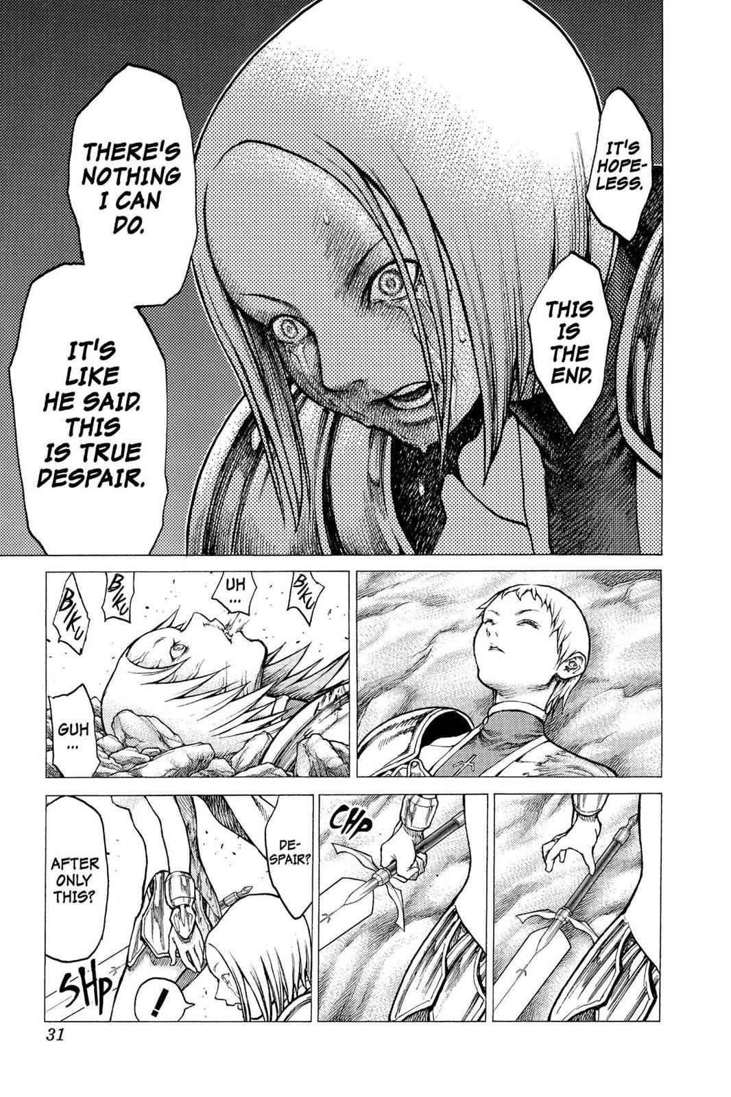 Claymore Chapter 28 Page 30