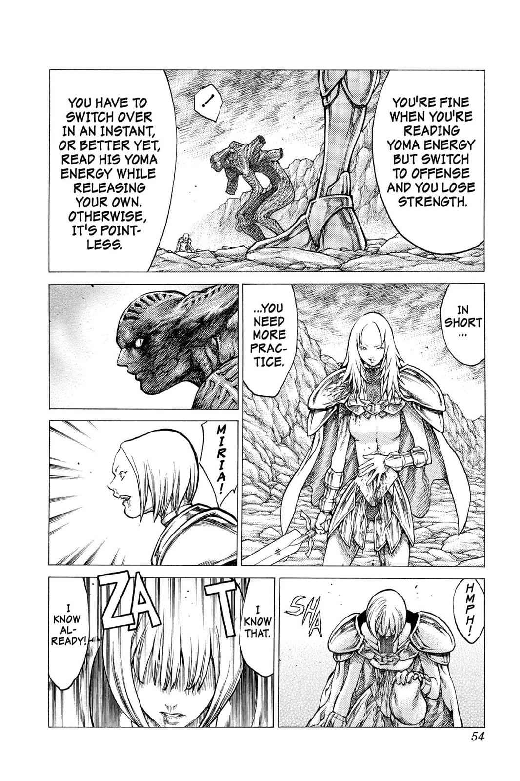 Claymore Chapter 29 Page 16