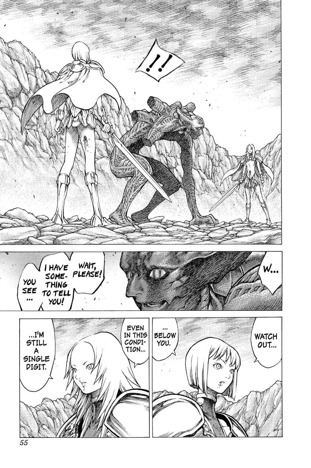Claymore Chapter 29 Page 17