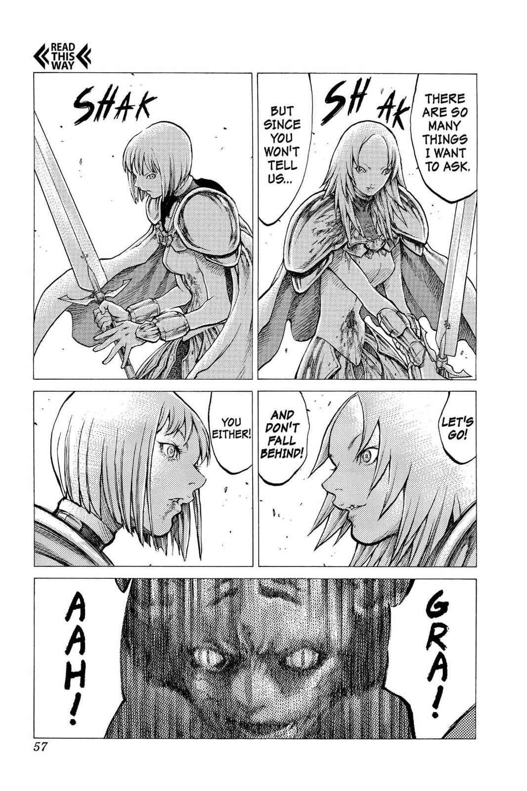 Claymore Chapter 29 Page 19