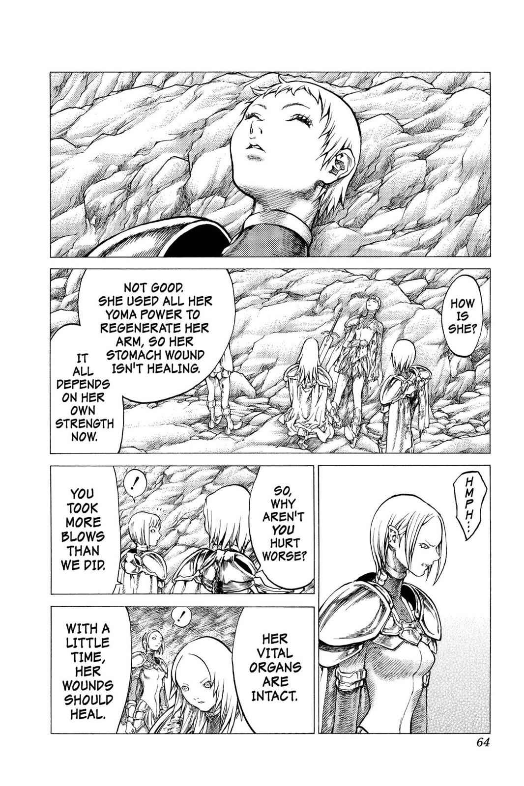 Claymore Chapter 29 Page 25