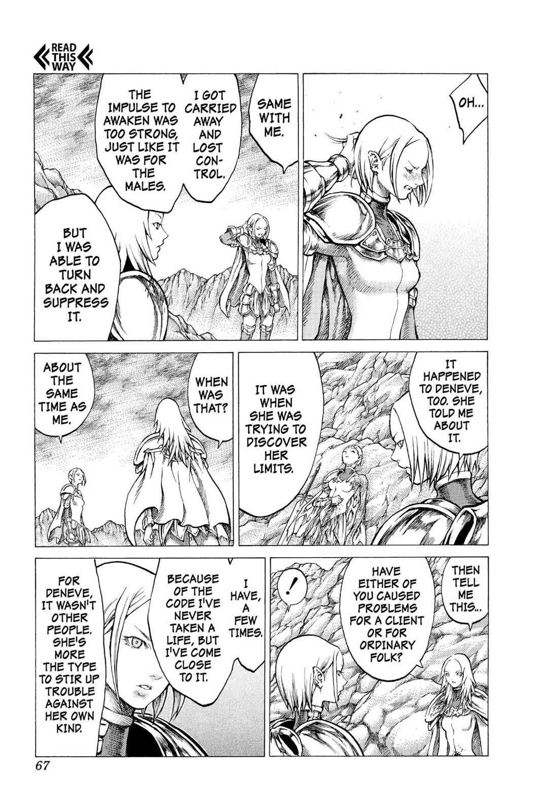 Claymore Chapter 29 Page 28
