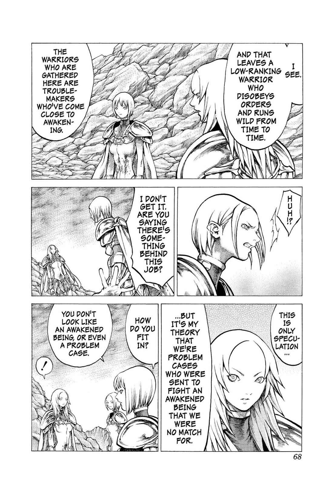 Claymore Chapter 29 Page 29