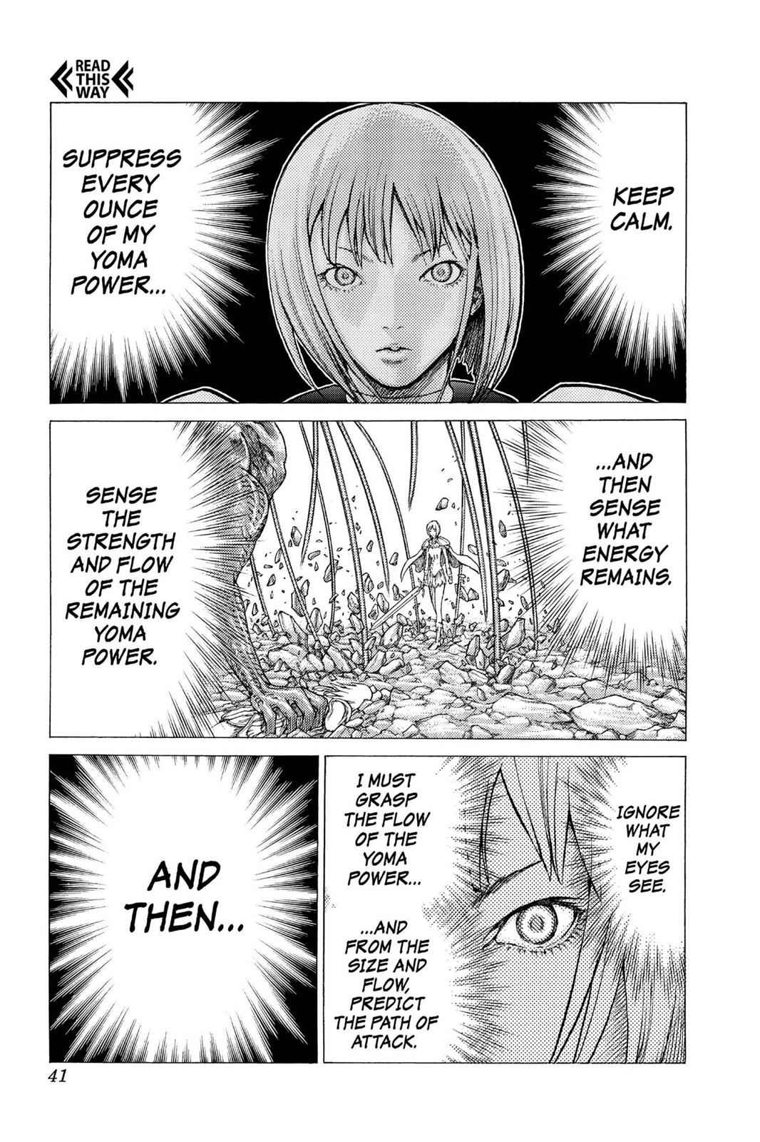 Claymore Chapter 29 Page 3