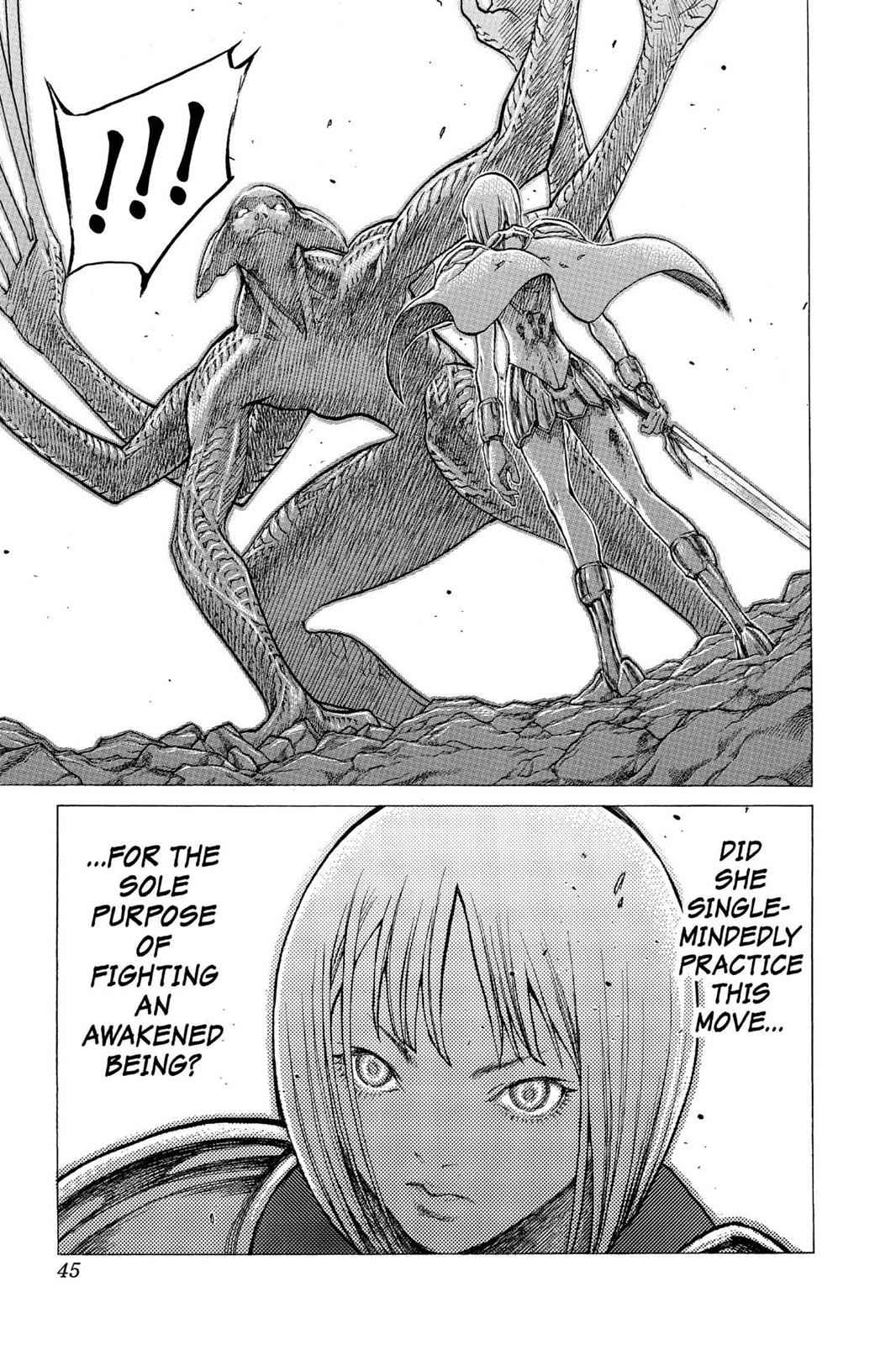 Claymore Chapter 29 Page 7