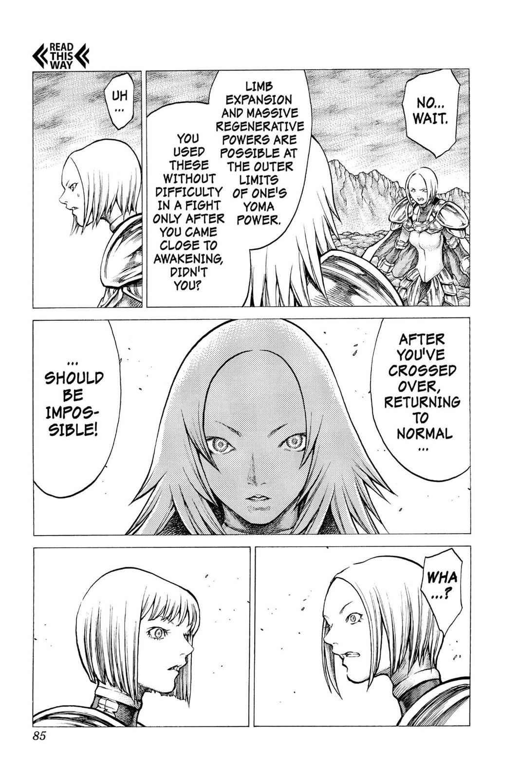 Claymore Chapter 30 Page 16