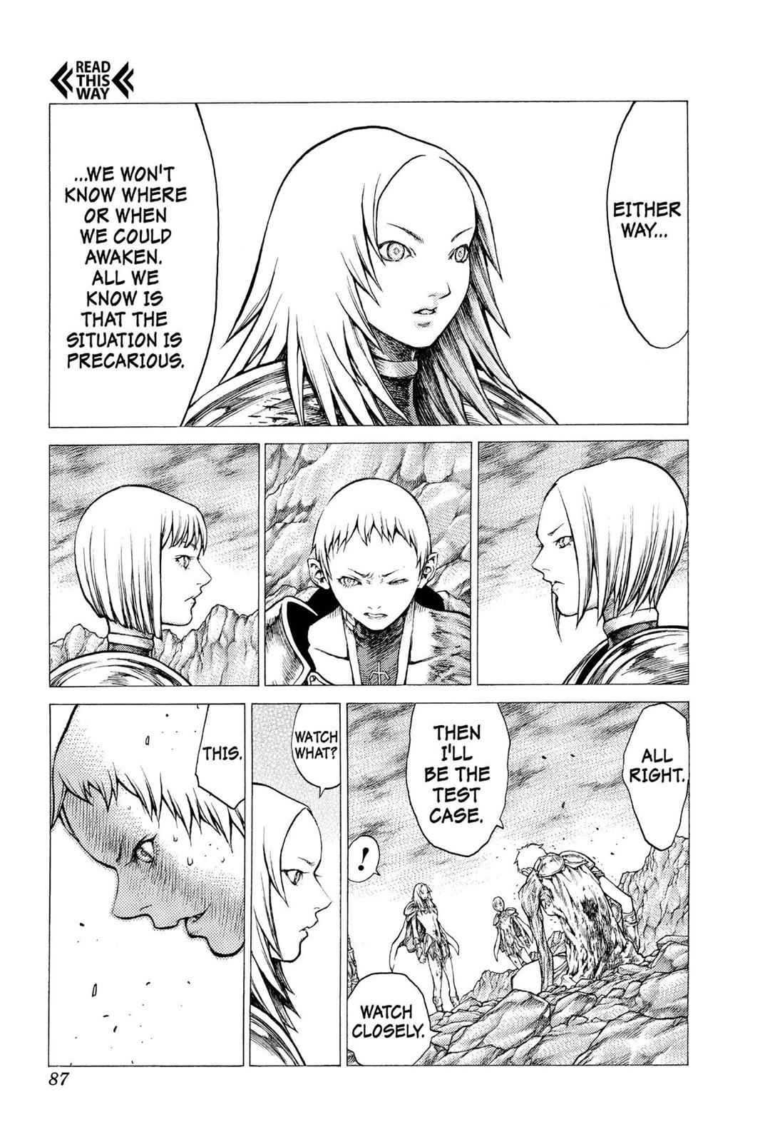 Claymore Chapter 30 Page 18