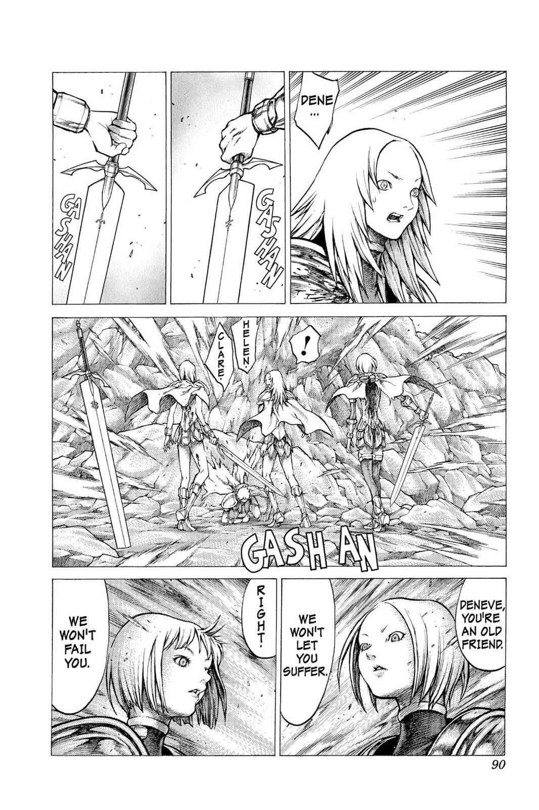 Claymore Chapter 30 Page 21