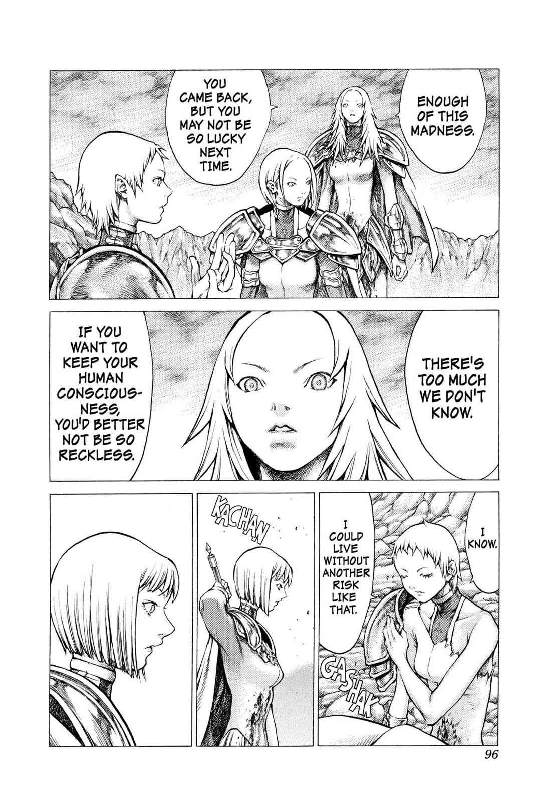 Claymore Chapter 30 Page 27