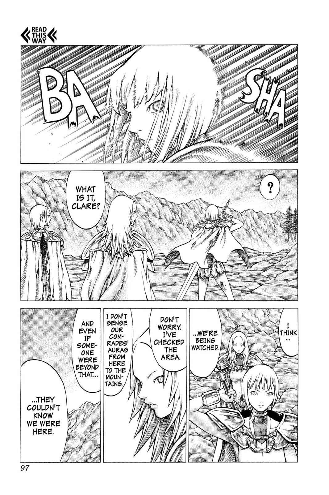 Claymore Chapter 30 Page 28